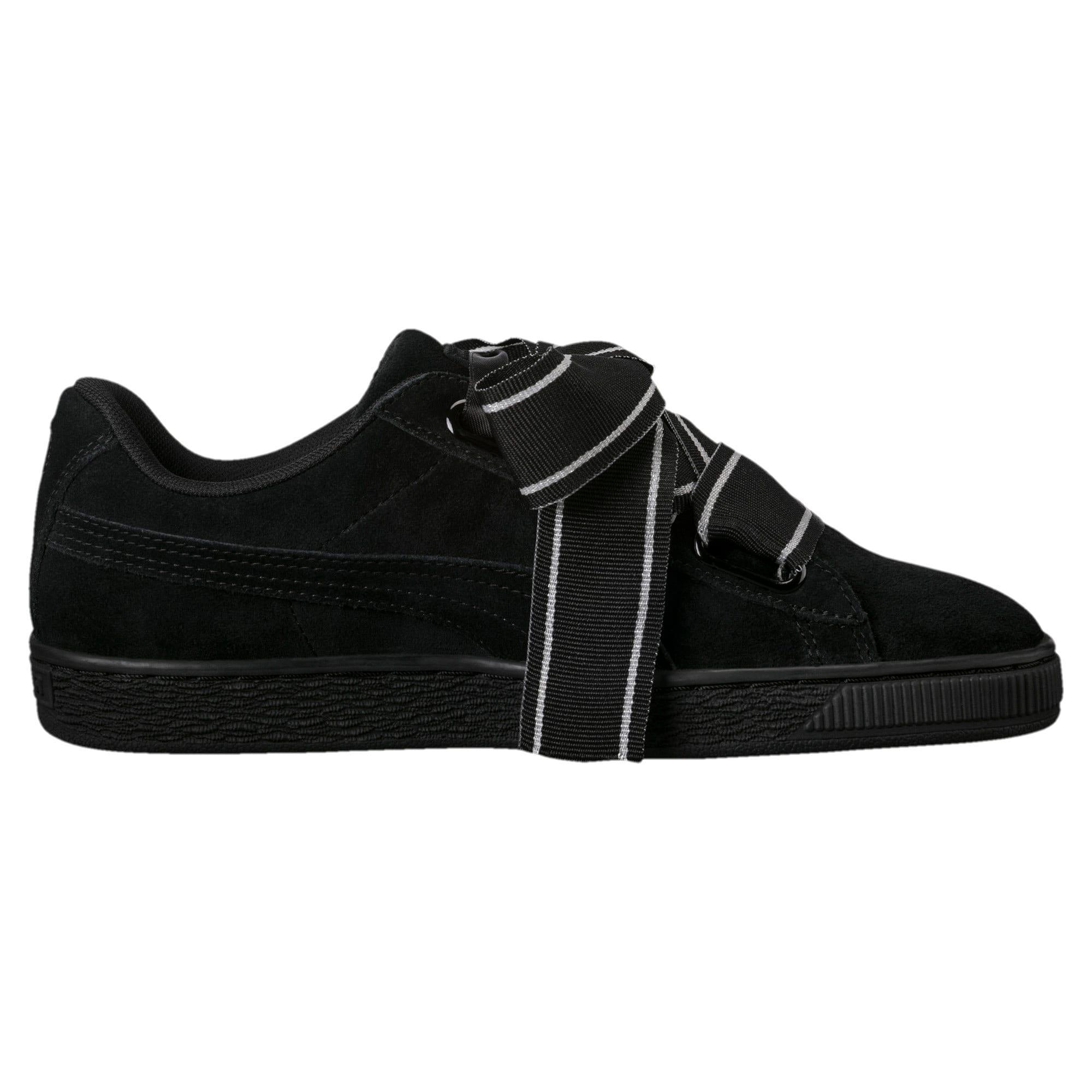 promo code 9d537 eeda8 Suede Heart Satin II Women's Sneakers