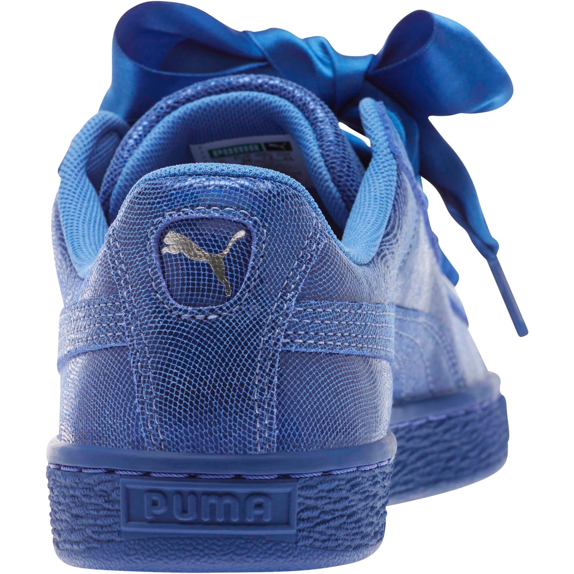 Thumbnail 4 of Basket Heart Opulence Women's Sneakers, Baja Blue-Baja Blue, medium