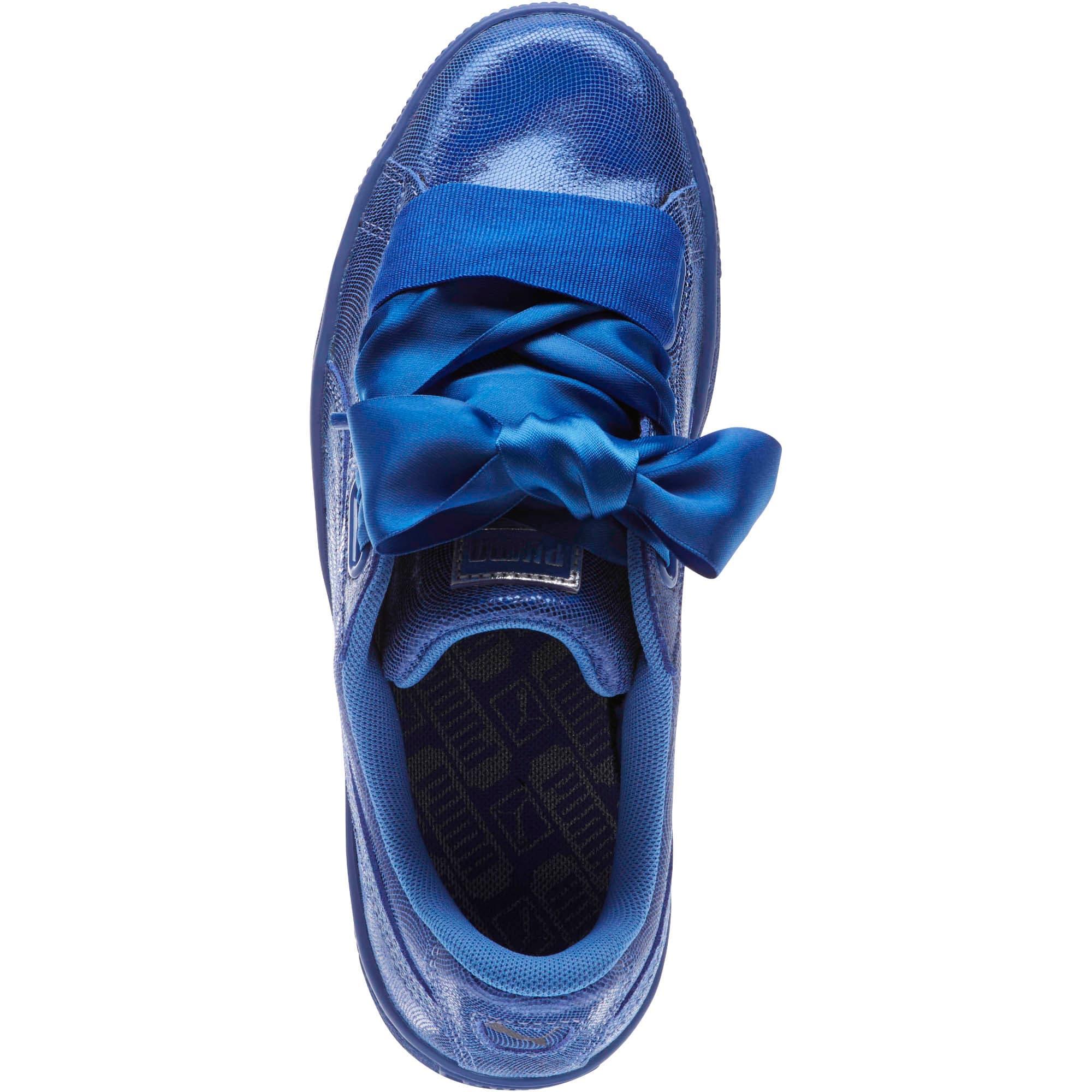 Thumbnail 5 of Basket Heart Opulence Women's Sneakers, Baja Blue-Baja Blue, medium