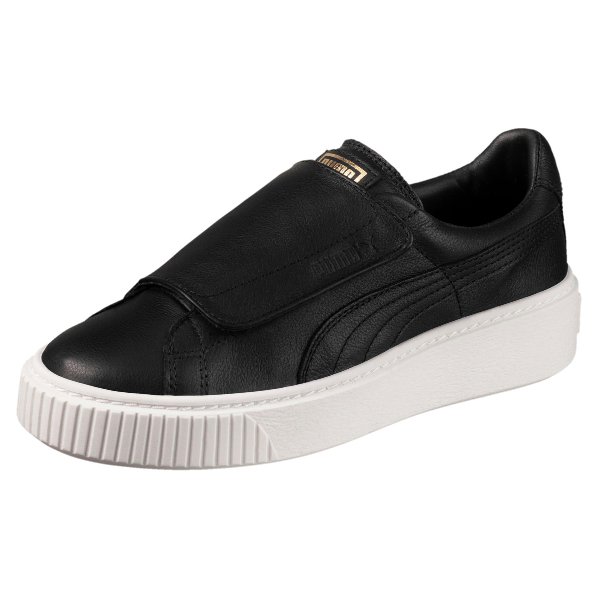 Puma scarpe da ginnastica da donna con pelle scamosciata e