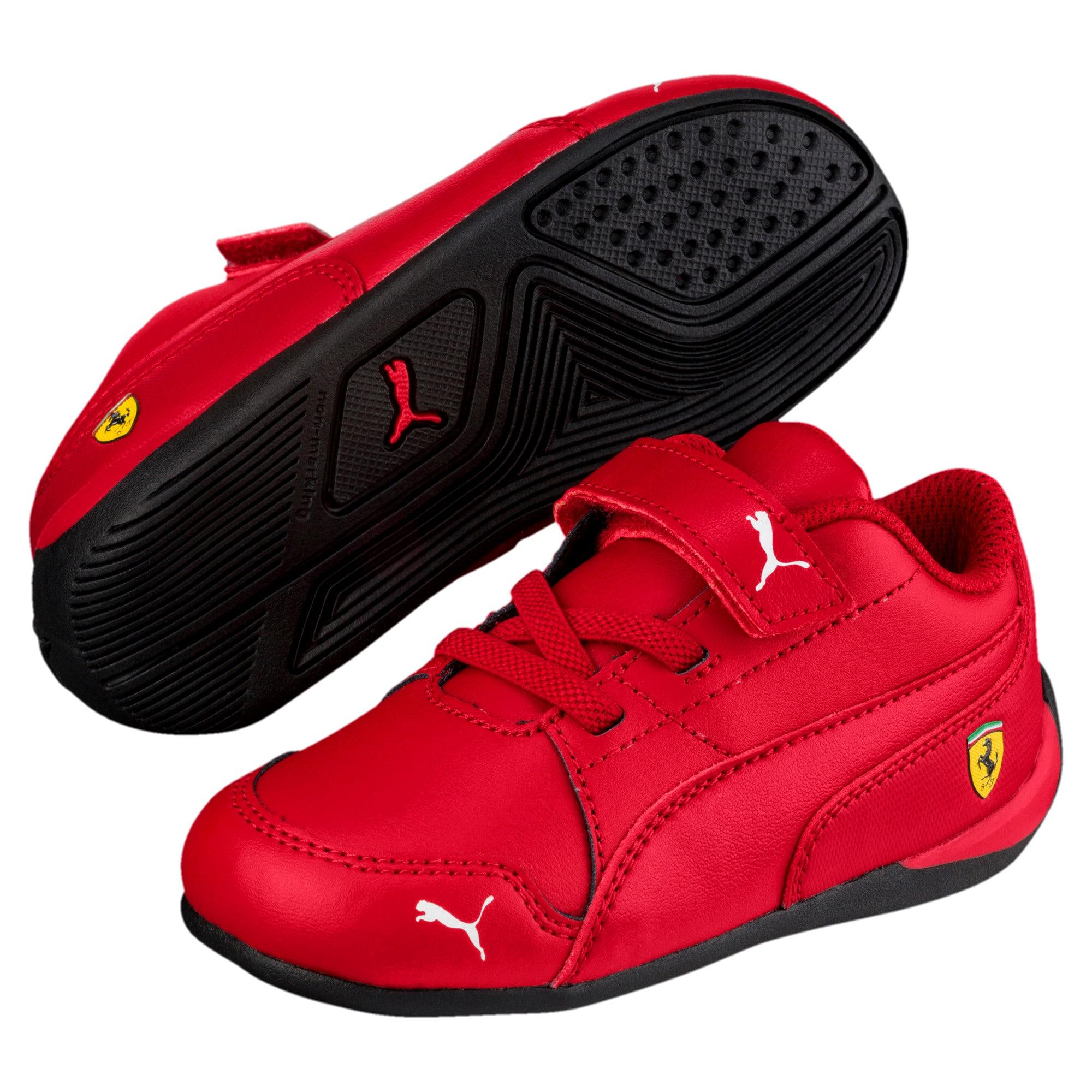 Thumbnail 2 of Ferrari Drift Cat 7 V Kinder Sneaker, Rosso Corsa-Rosso Corsa, medium