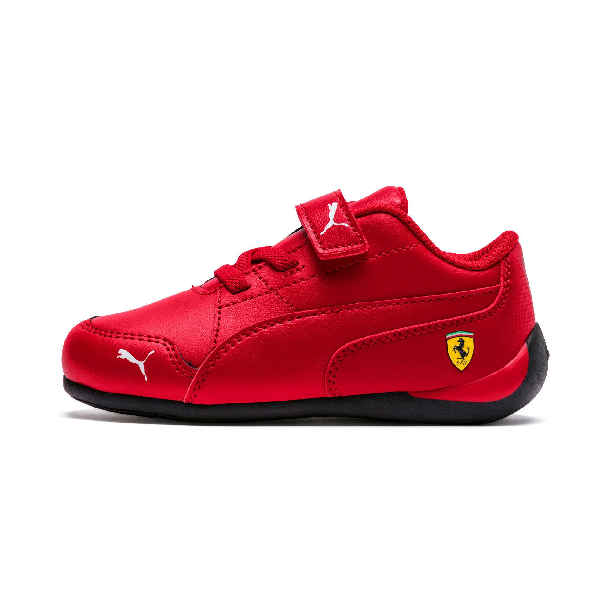 Thumbnail 1 of Ferrari Drift Cat 7 V Kinder Sneaker, Rosso Corsa-Rosso Corsa, medium