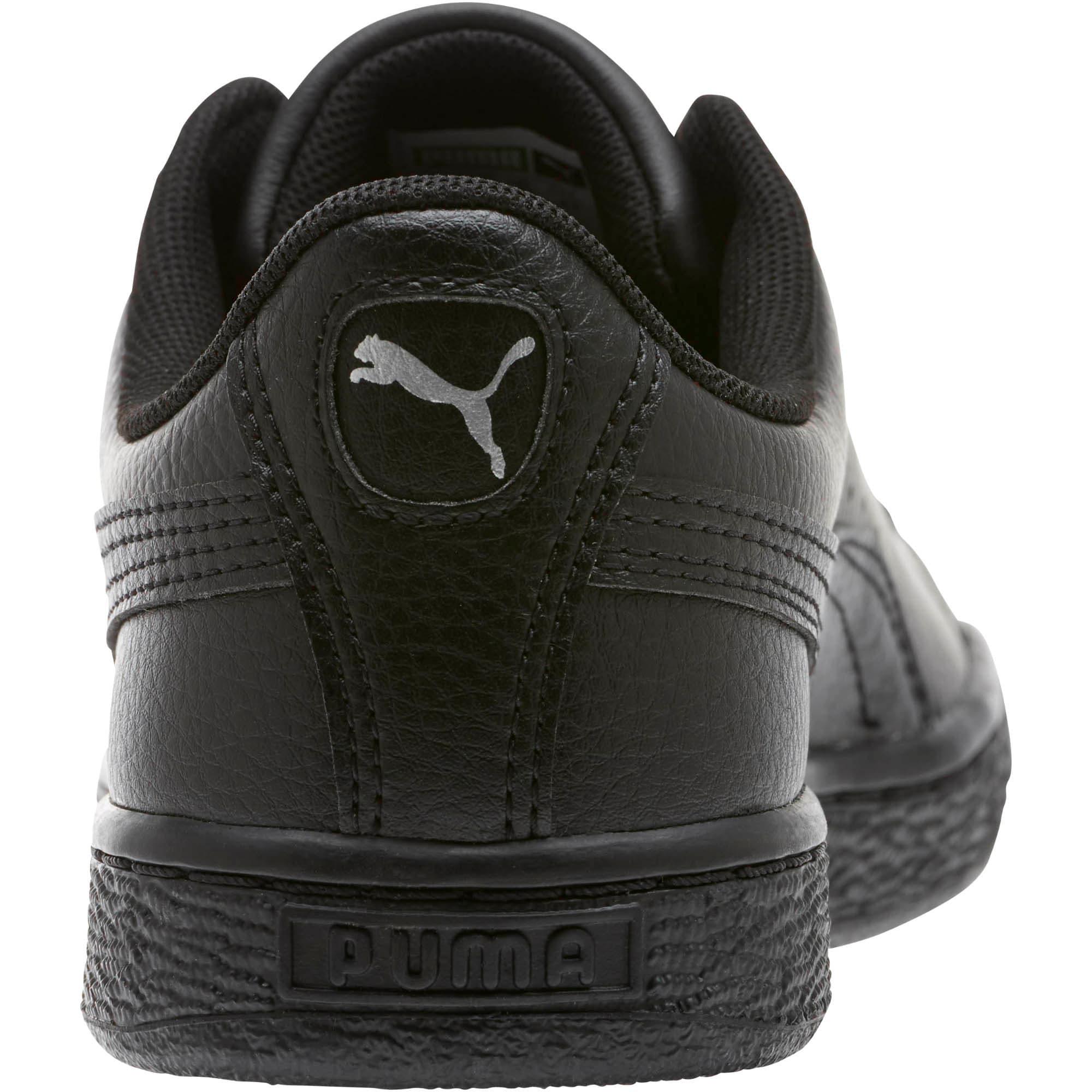 Thumbnail 3 of Basket Classic Sneakers JR, Puma Black-Puma Black, medium
