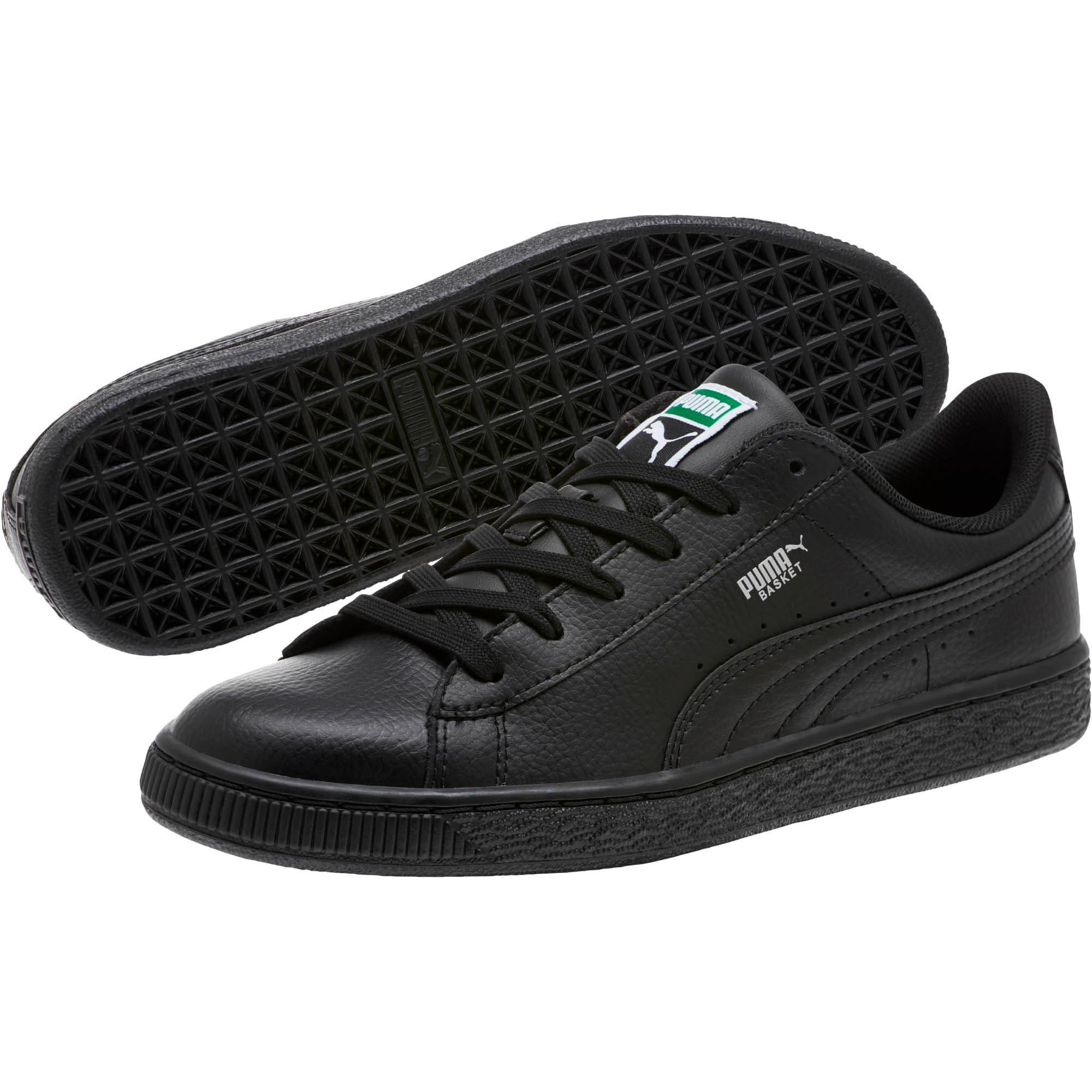Thumbnail 2 of Basket Classic Sneakers JR, Puma Black-Puma Black, medium