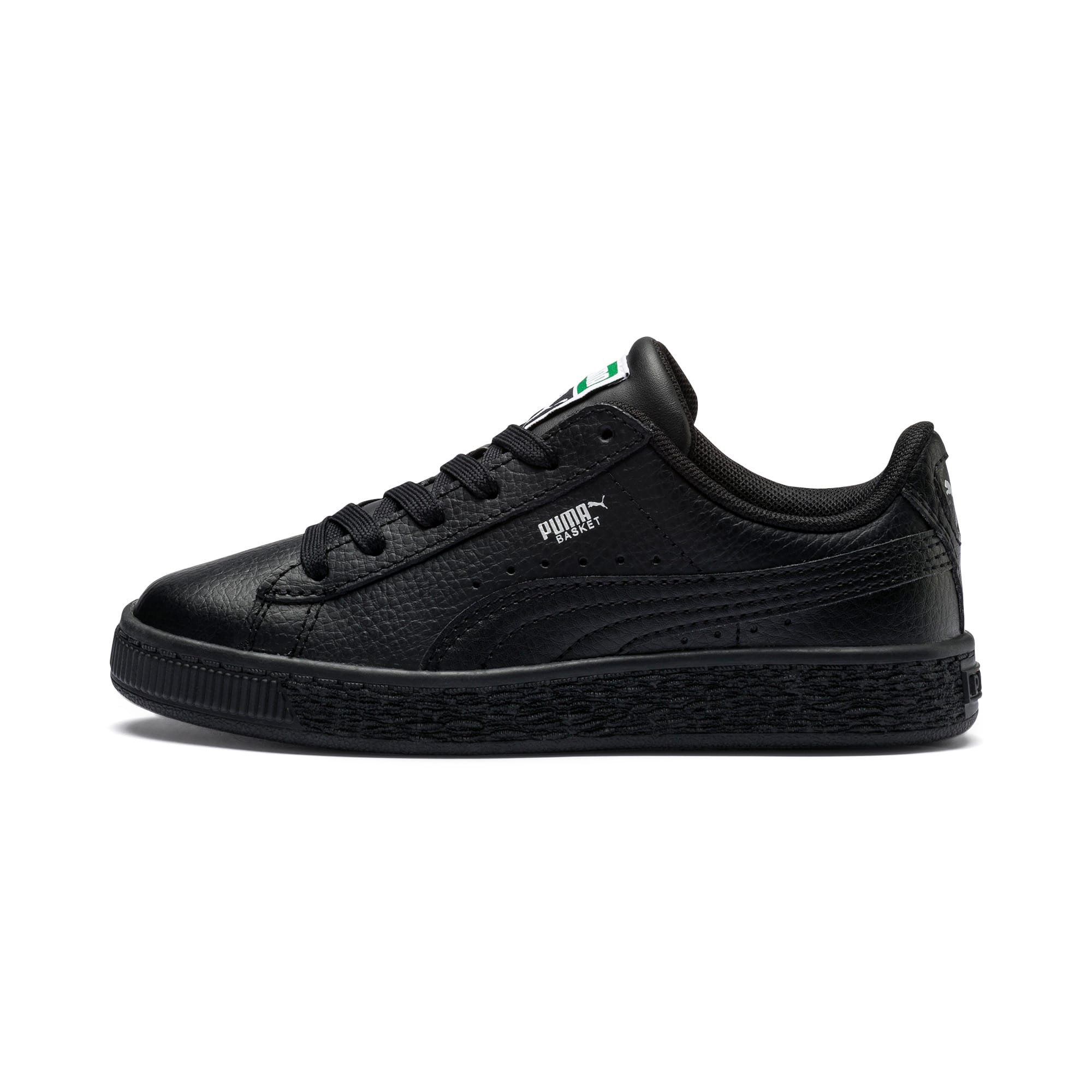 Thumbnail 1 of Basket Classic Little Kids' Shoes, Puma Black-Puma Black, medium