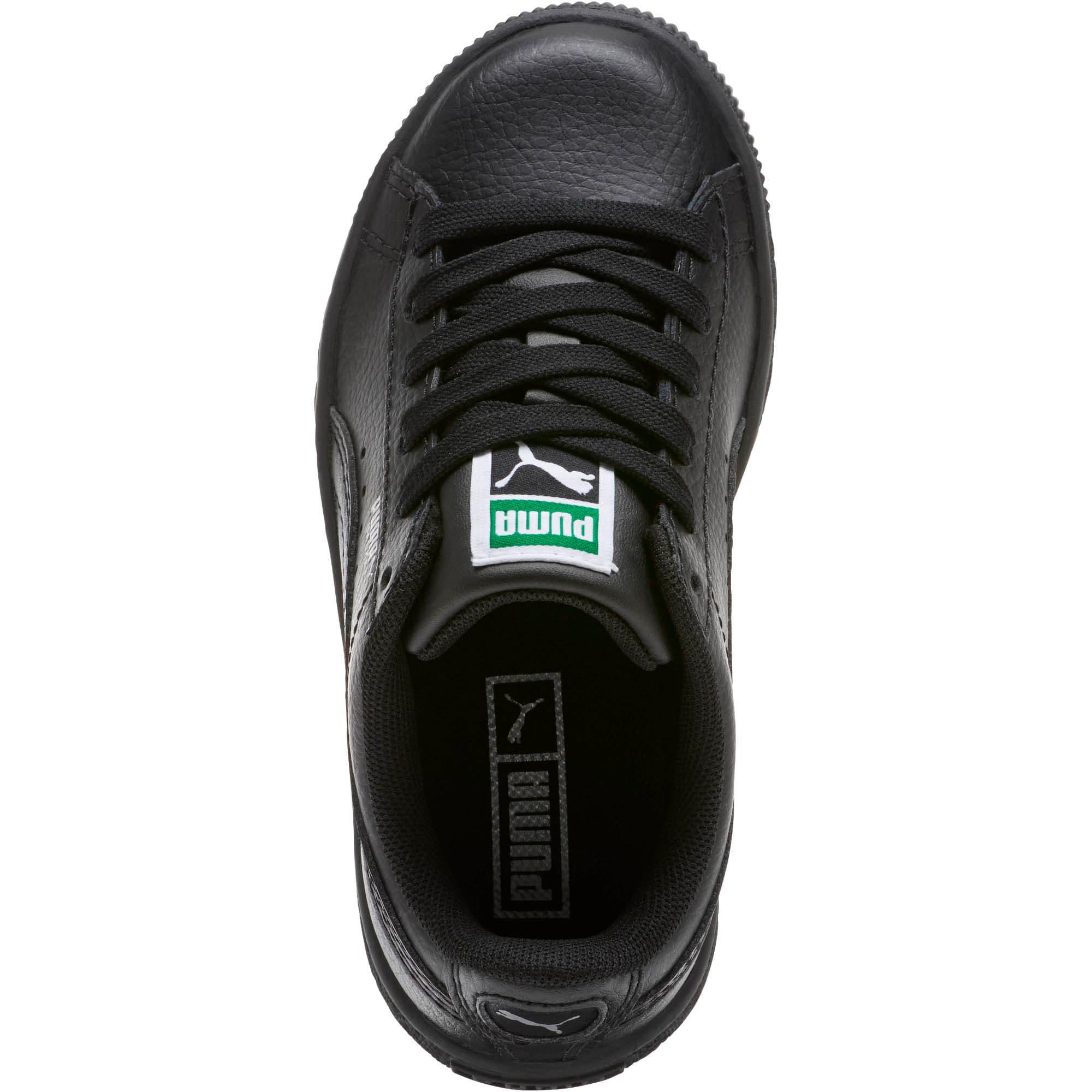 Thumbnail 5 of Basket Classic Little Kids' Shoes, Puma Black-Puma Black, medium