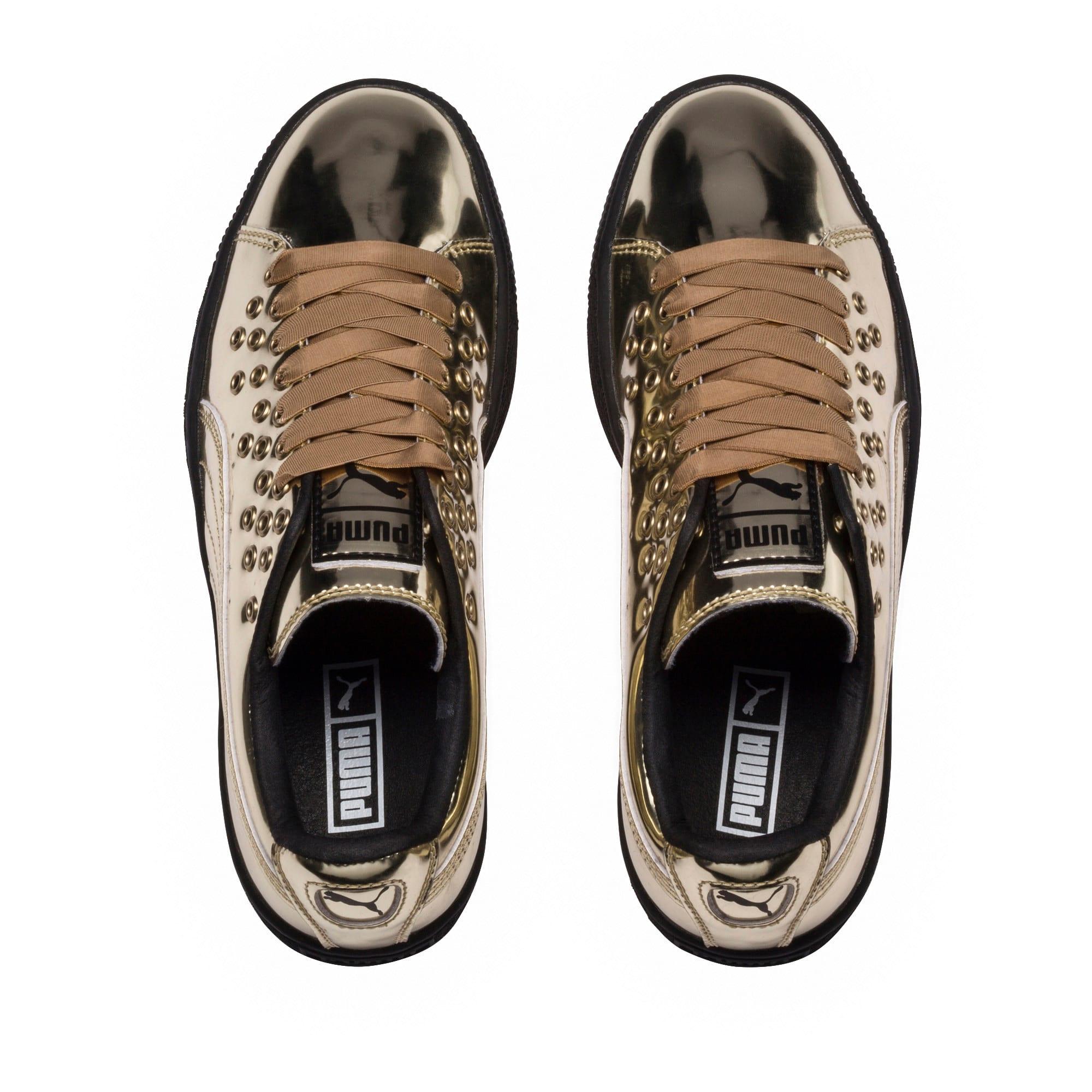 Basket XL Lace Metal Women's Sneakers