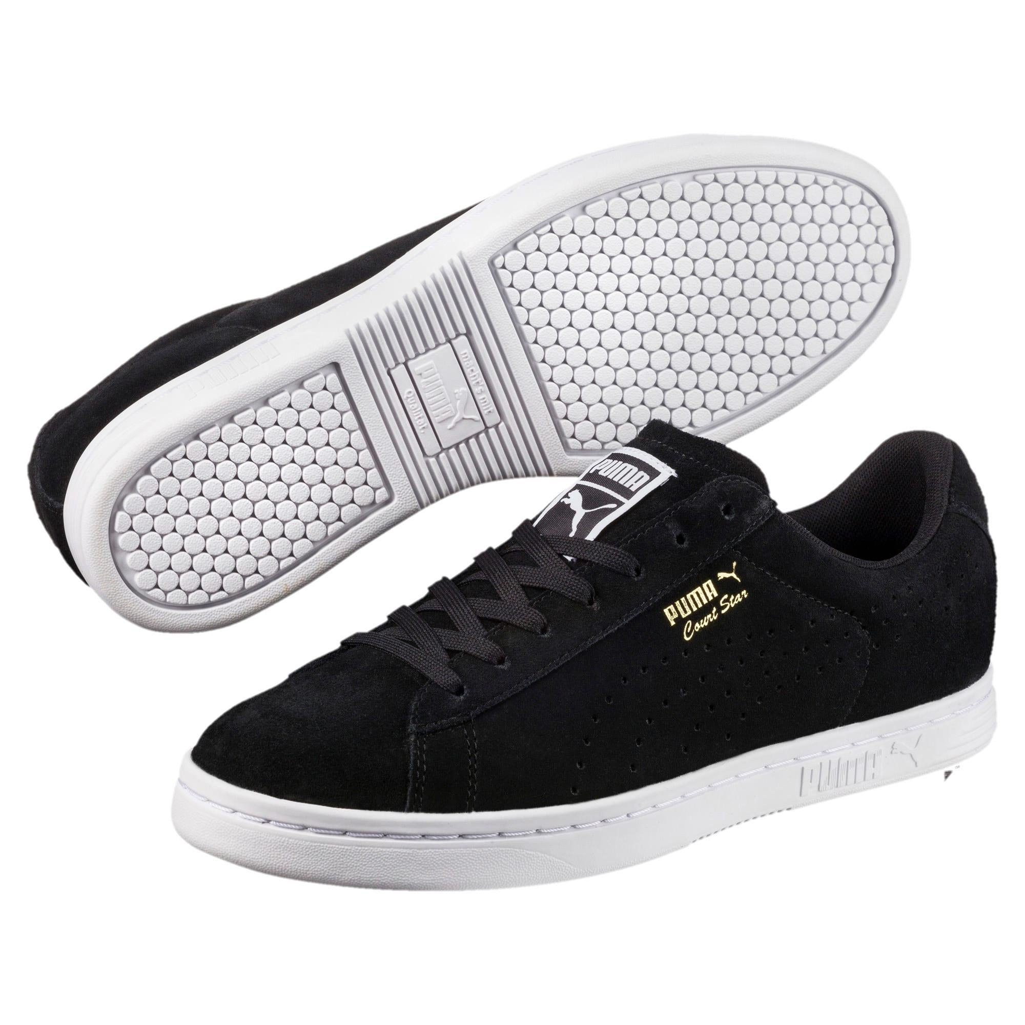 Thumbnail 2 of Court Star Suede Sneakers, Puma Black, medium