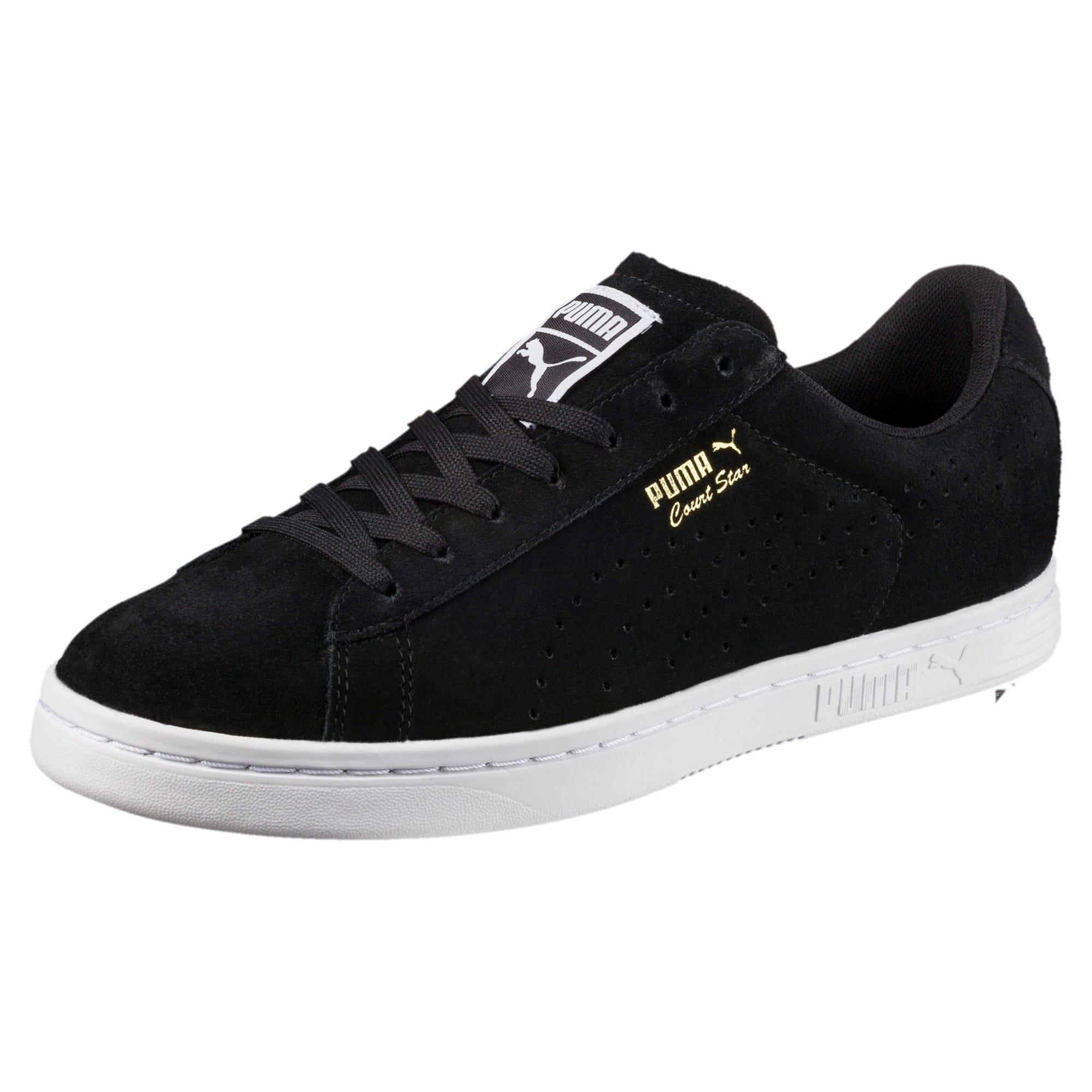 Thumbnail 1 of Court Star Suede Sneakers, Puma Black, medium