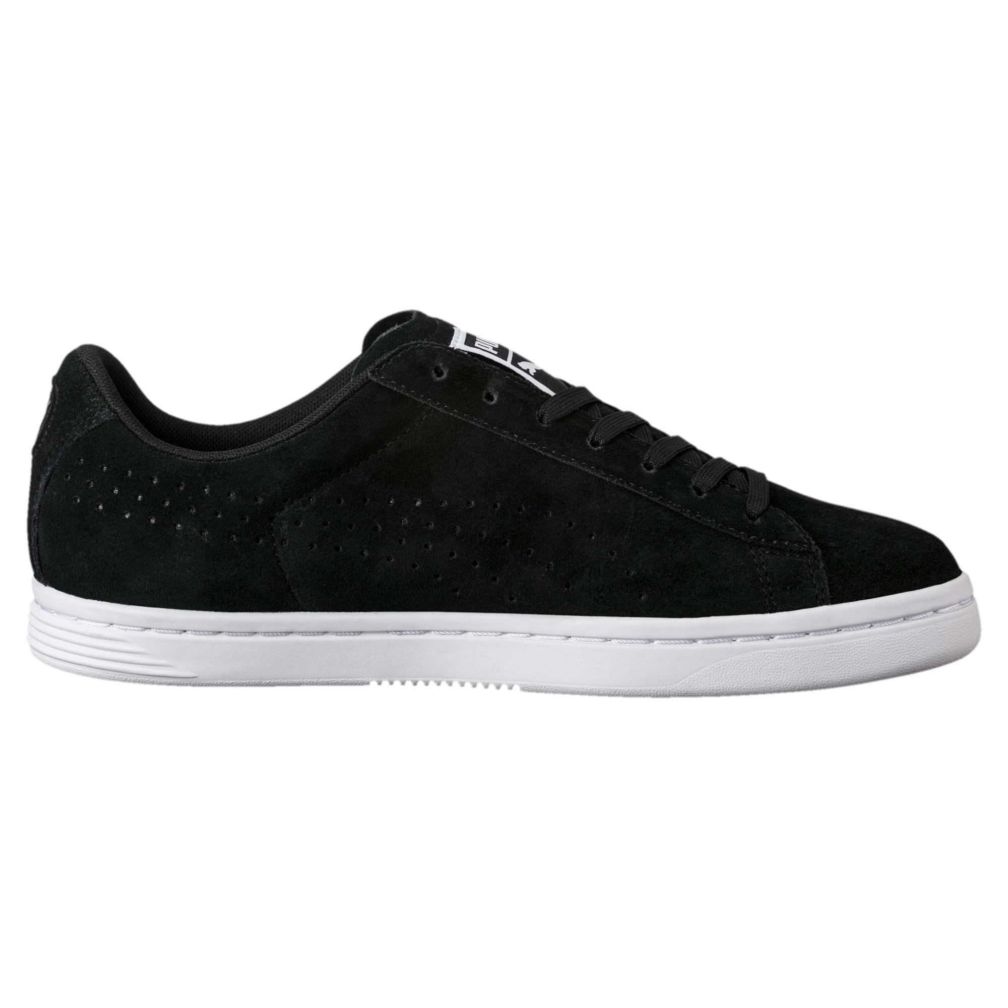 Thumbnail 3 of Court Star Suede Sneakers, Puma Black, medium