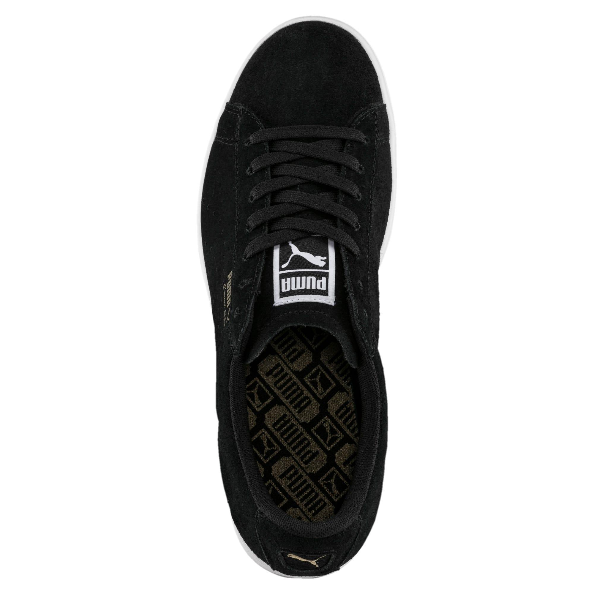 Thumbnail 5 of Court Star Suede Sneakers, Puma Black, medium