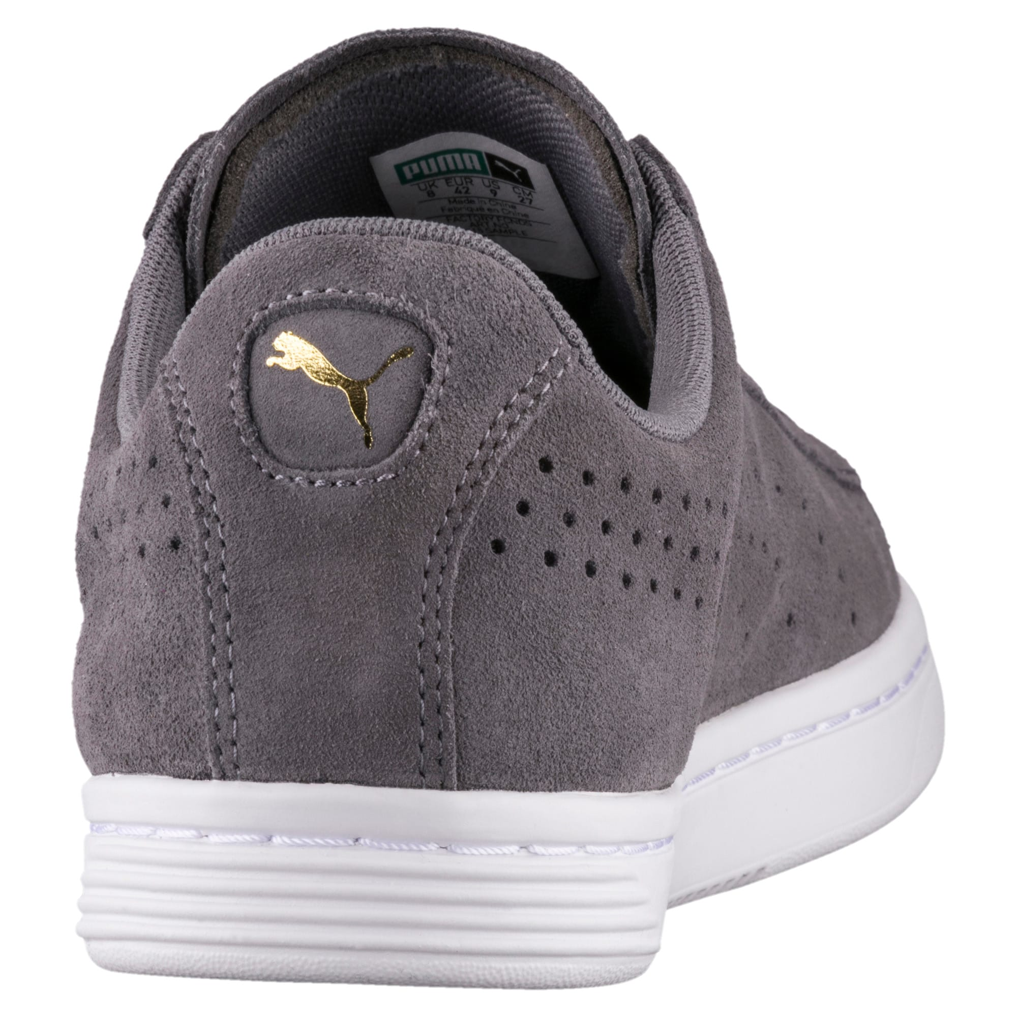 Thumbnail 4 of Court Star Suede Sneakers, QUIET SHADE, medium