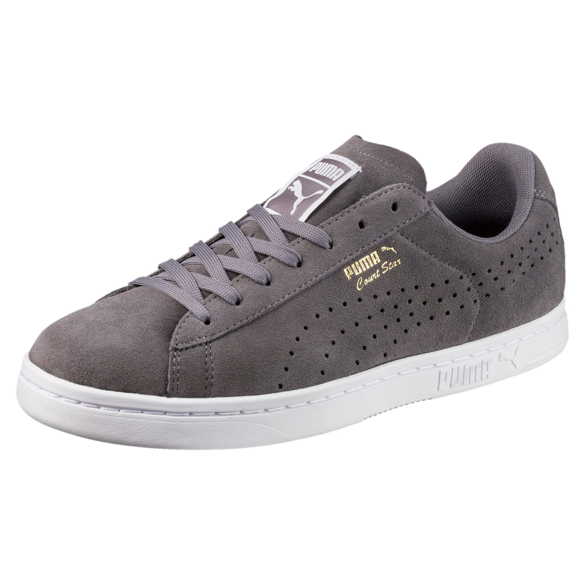 Thumbnail 1 of Court Star Suede Sneakers, QUIET SHADE, medium