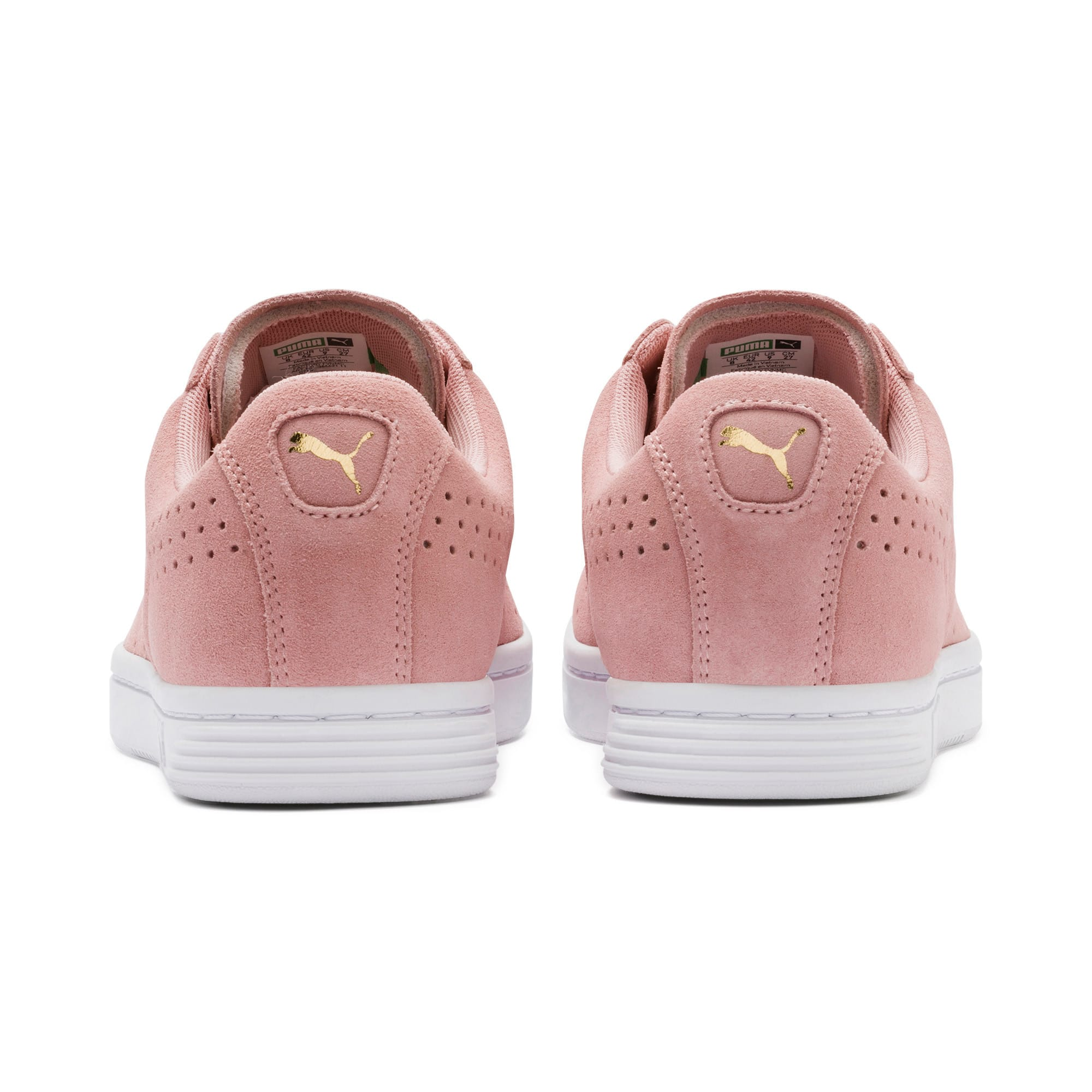 Thumbnail 5 of Court Star Suede Sneakers, Bridal Rose-Puma White, medium