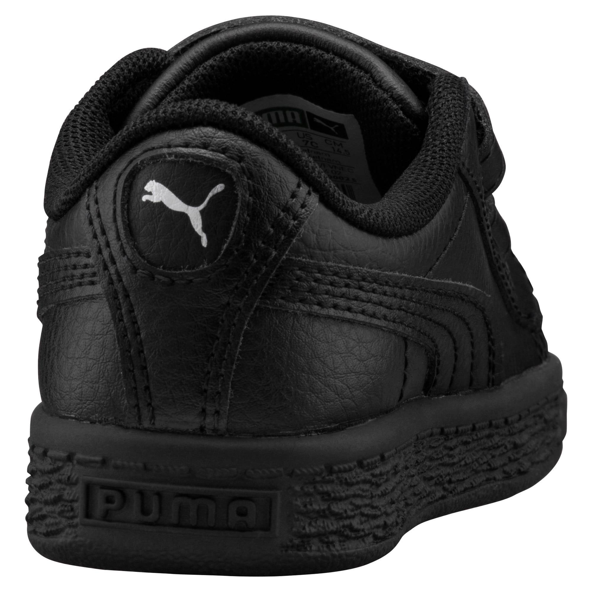 Thumbnail 4 of Basket Classic AC Toddler Shoes, Puma Black-Puma Black, medium