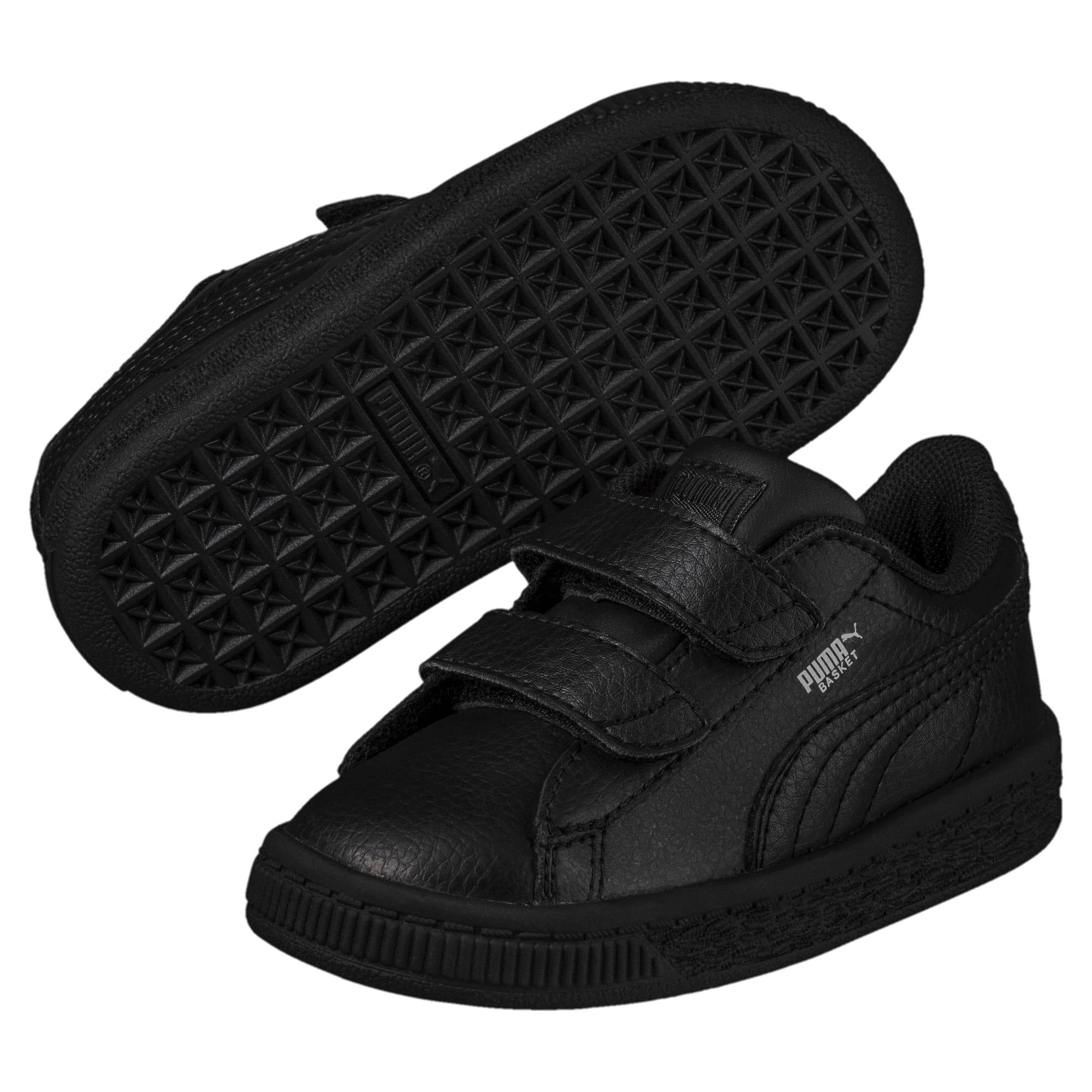 Thumbnail 2 of Basket Classic AC Toddler Shoes, Puma Black-Puma Black, medium