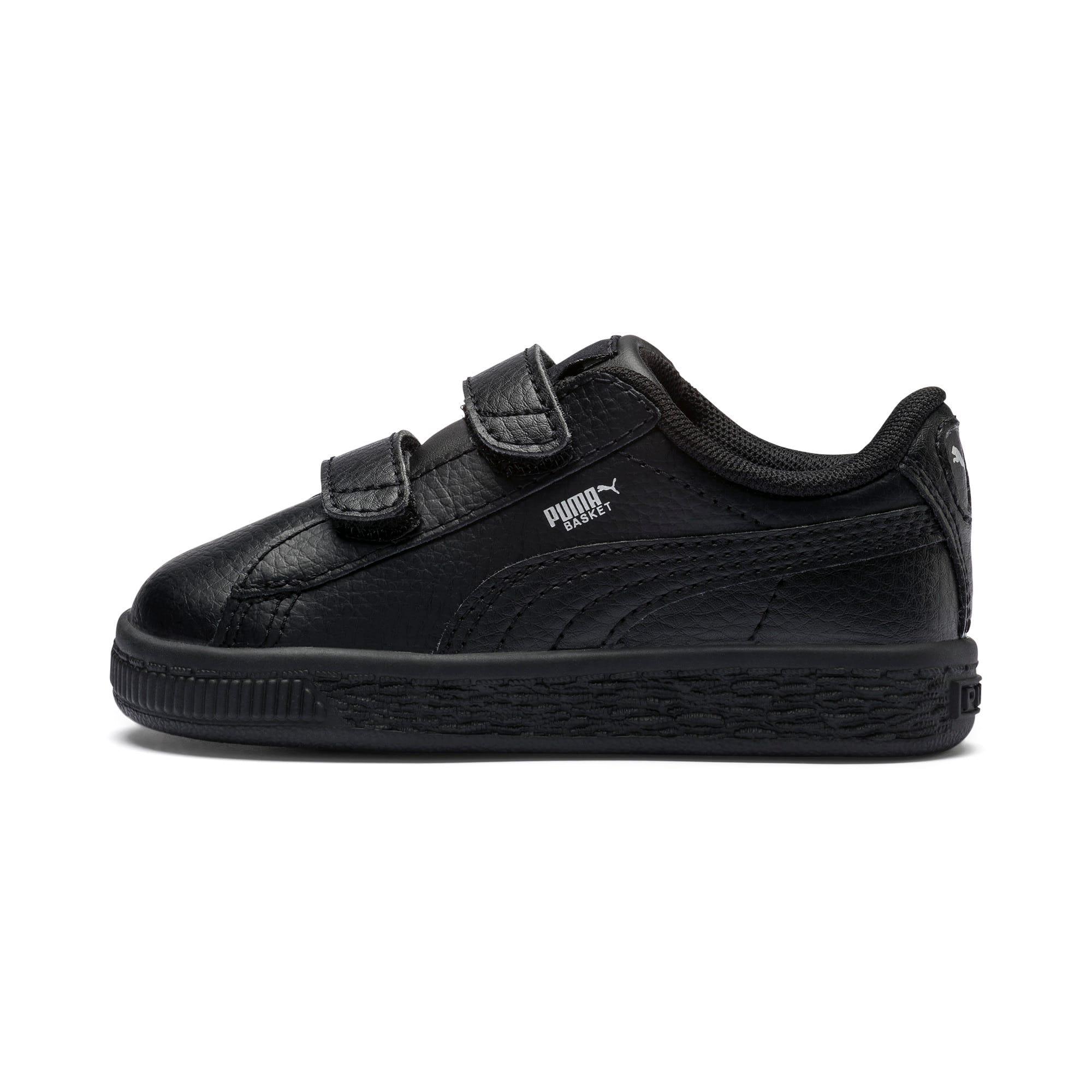 Thumbnail 1 of Basket Classic AC Toddler Shoes, Puma Black-Puma Black, medium