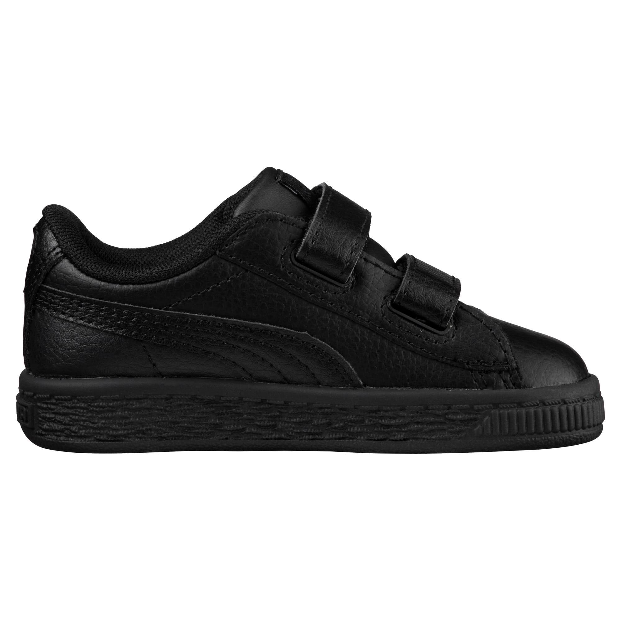 Thumbnail 3 of Basket Classic AC Toddler Shoes, Puma Black-Puma Black, medium