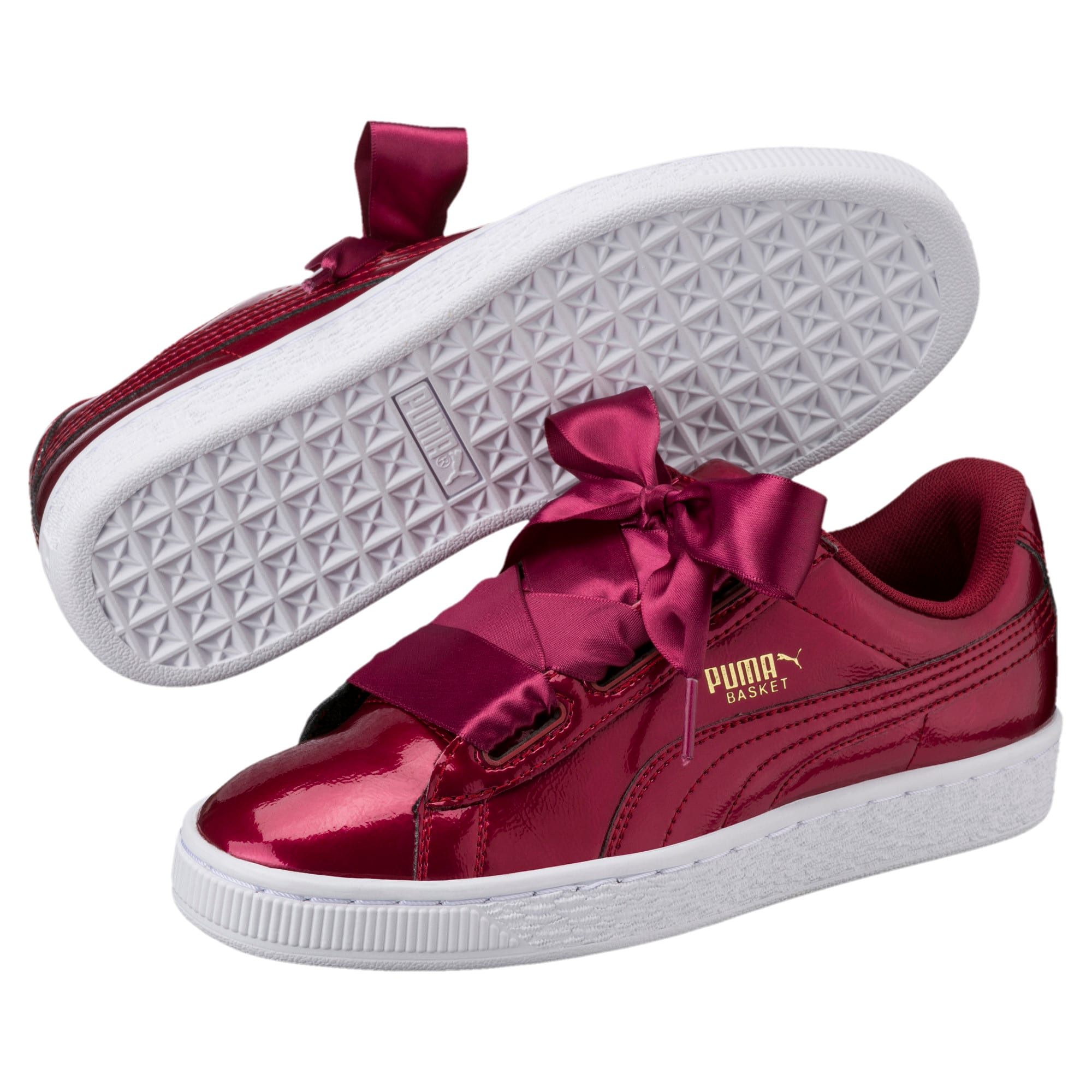 more photos 8f403 e22ae Basket Heart Glam Girls' Sneakers