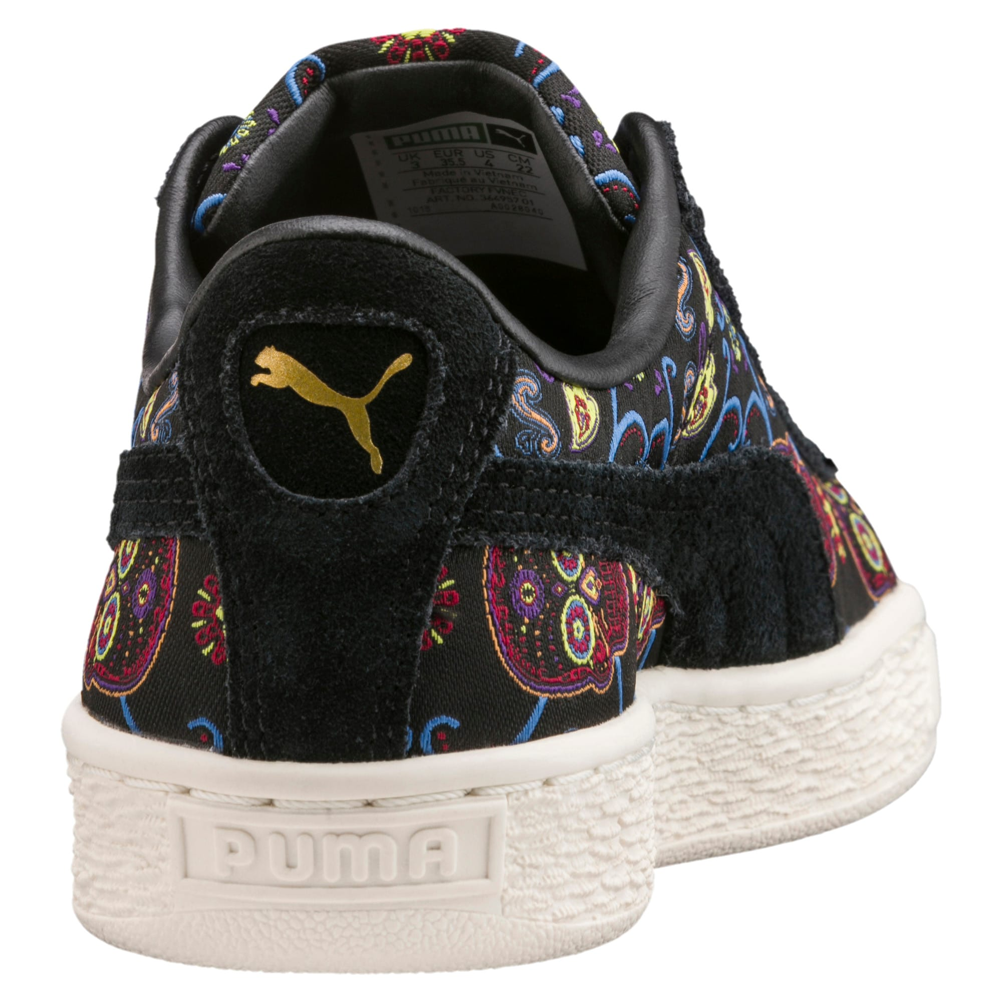 Basket Classic Day Of The Dead Little Kids' Shoes