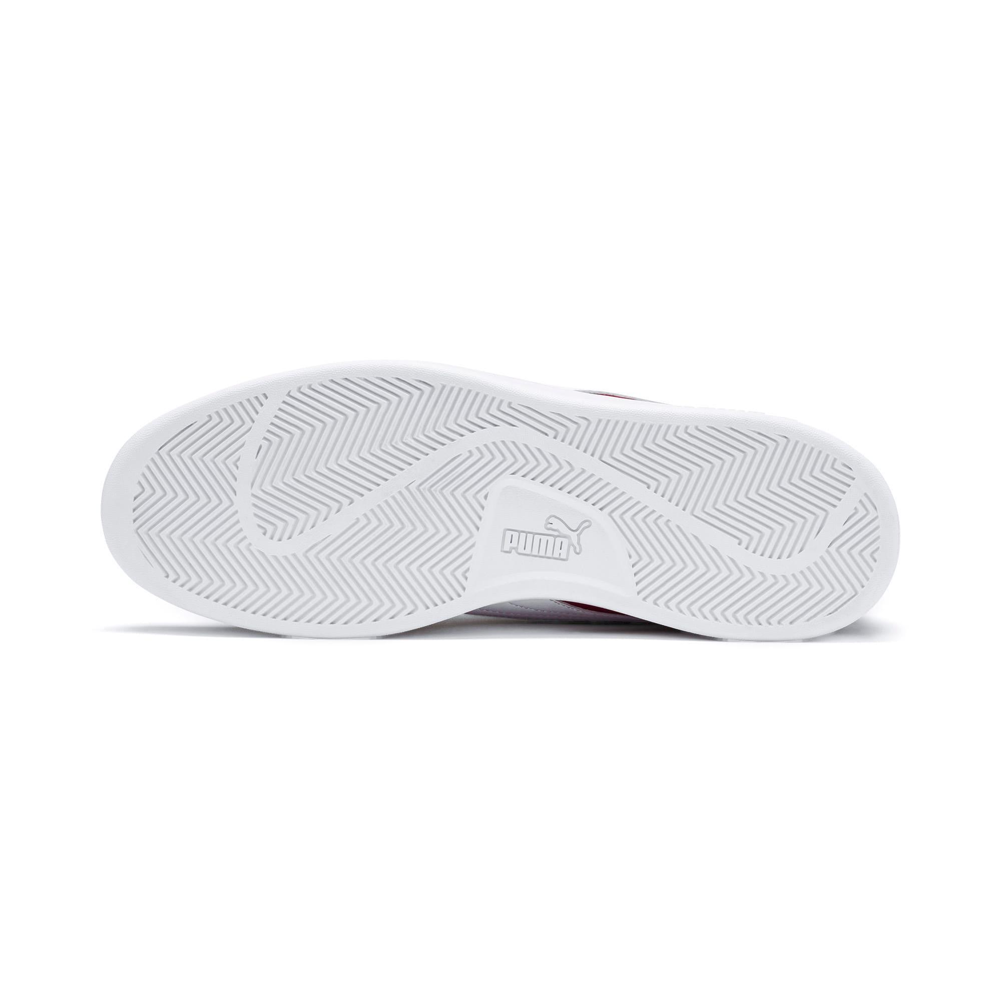 Thumbnail 5 of PUMA Smash v2 Sneakers, Rhubarb-Puma Team Gold-White, medium