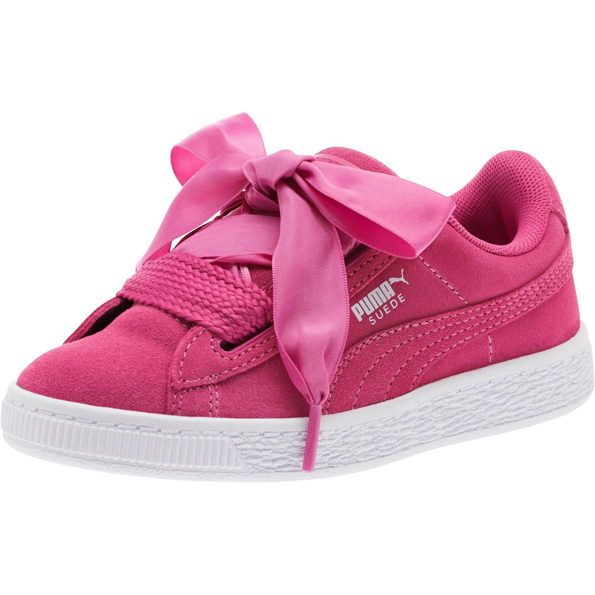 the best attitude 3fd88 68129 Suede Heart Little Kids' Shoes