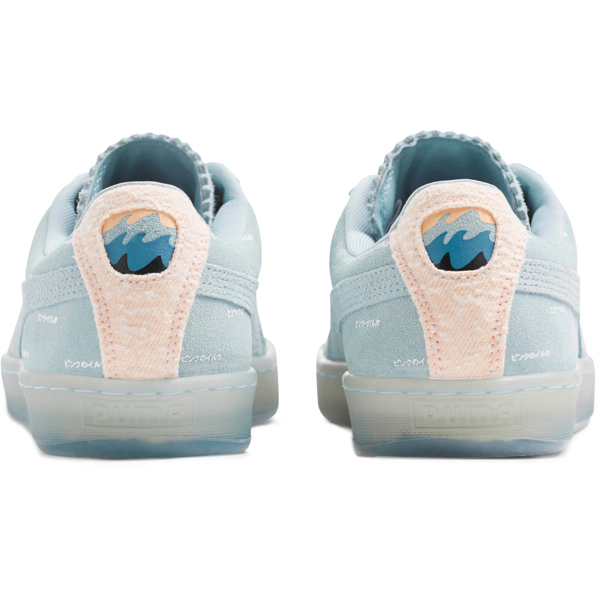official photos 357c3 29311 Suede V2 Pink Dolphin Men's Sneakers