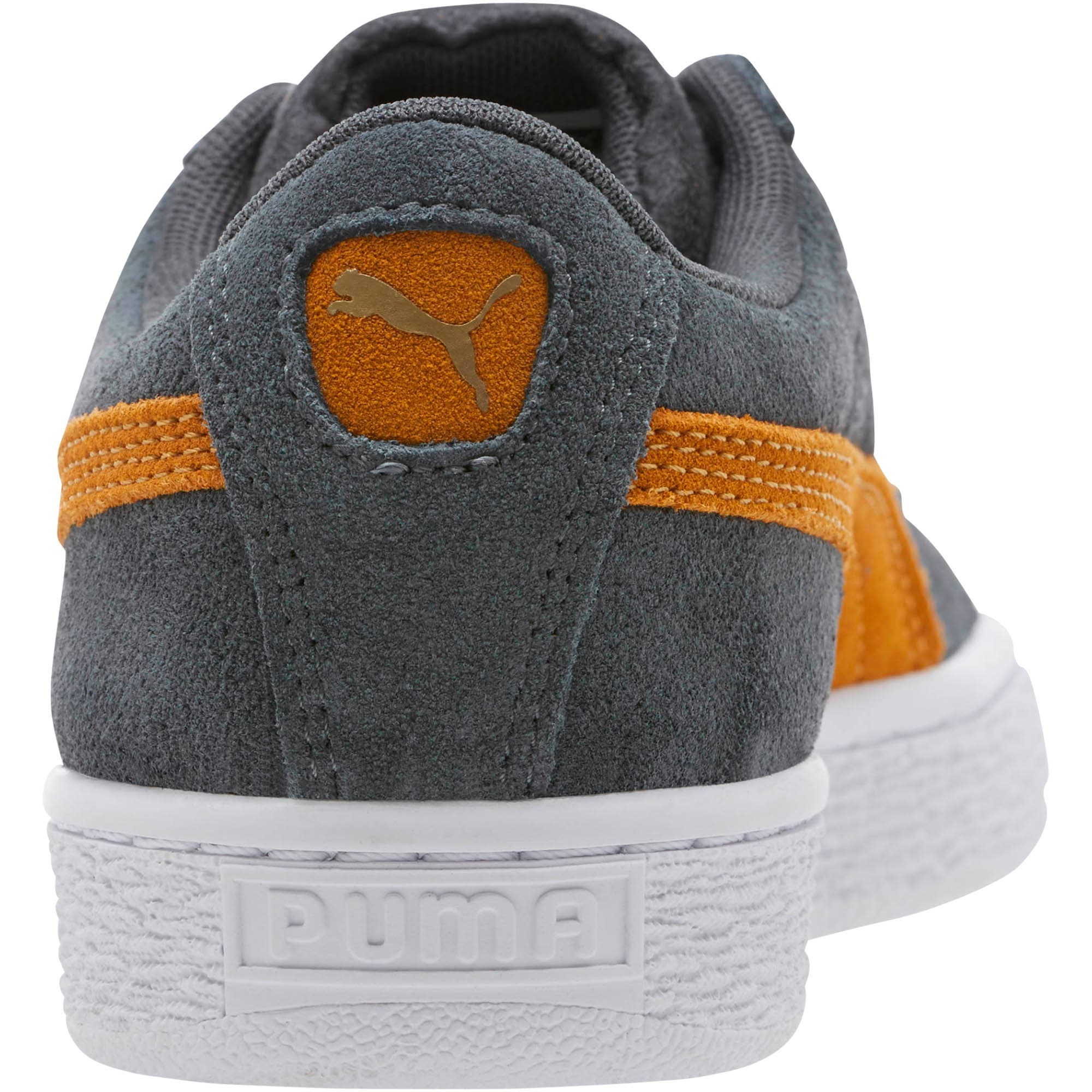 Thumbnail 4 of Suede Classic Sneakers JR, Iron Gate-Buckthorn, medium