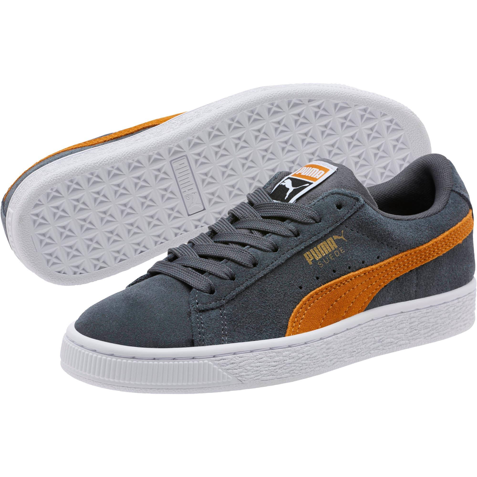 Thumbnail 2 of Suede Classic Sneakers JR, Iron Gate-Buckthorn, medium