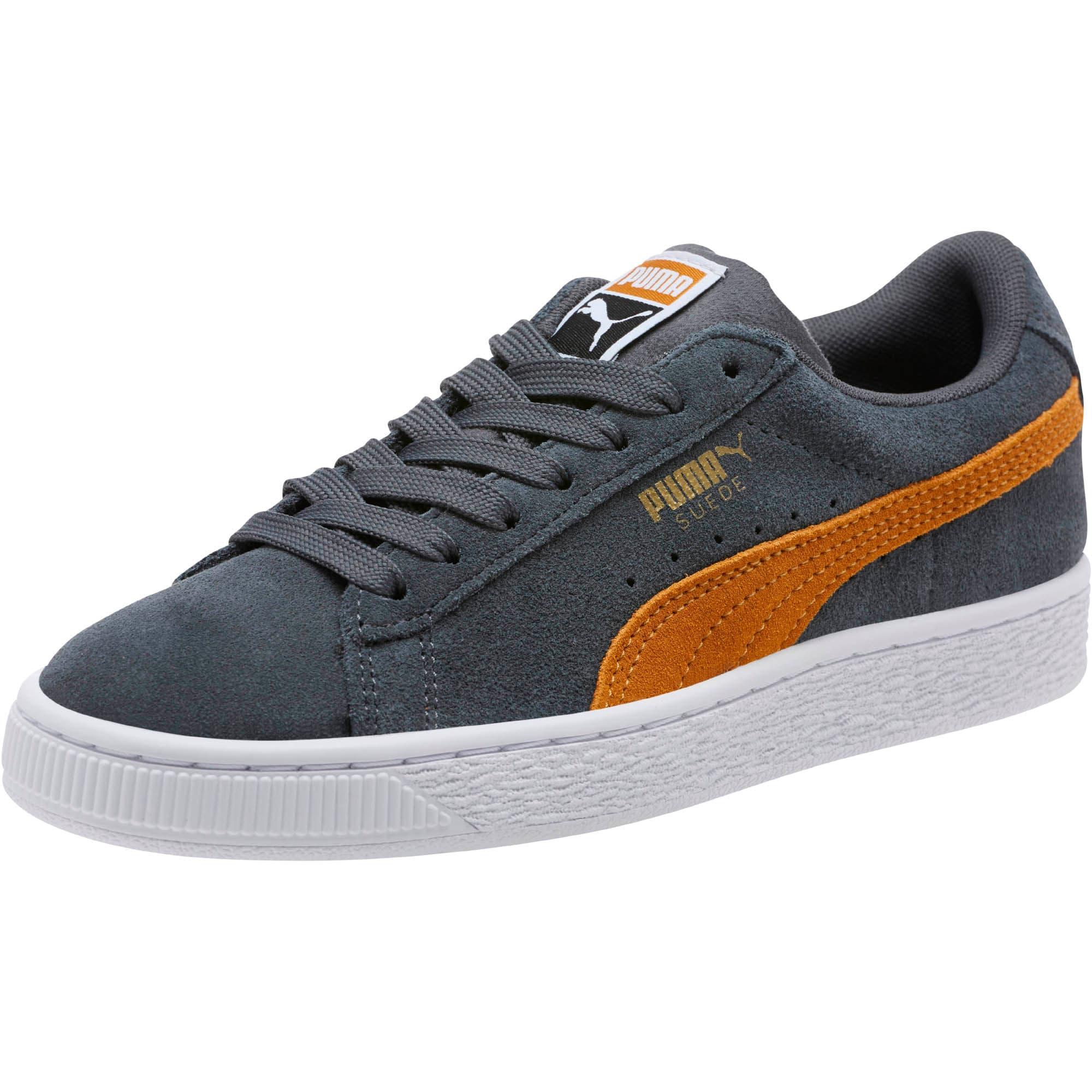 Thumbnail 1 of Suede Classic Sneakers JR, Iron Gate-Buckthorn, medium