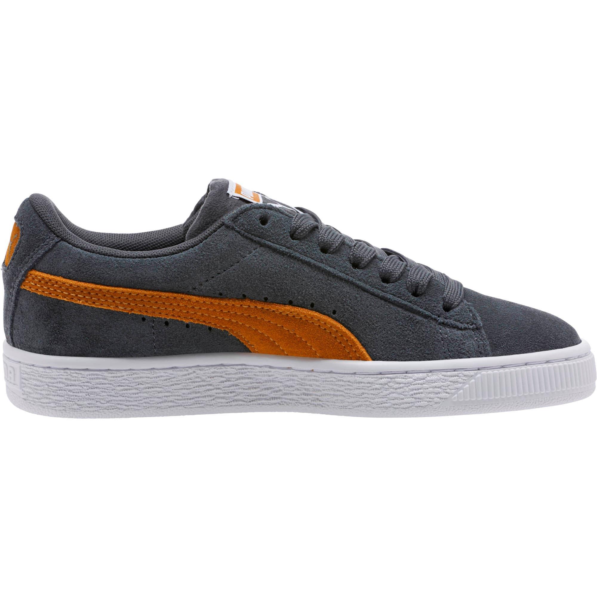 Thumbnail 3 of Suede Classic Sneakers JR, Iron Gate-Buckthorn, medium