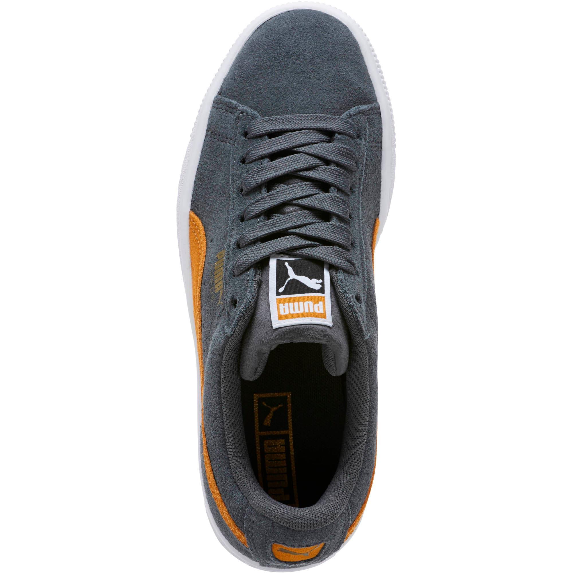 Thumbnail 5 of Suede Classic Sneakers JR, Iron Gate-Buckthorn, medium