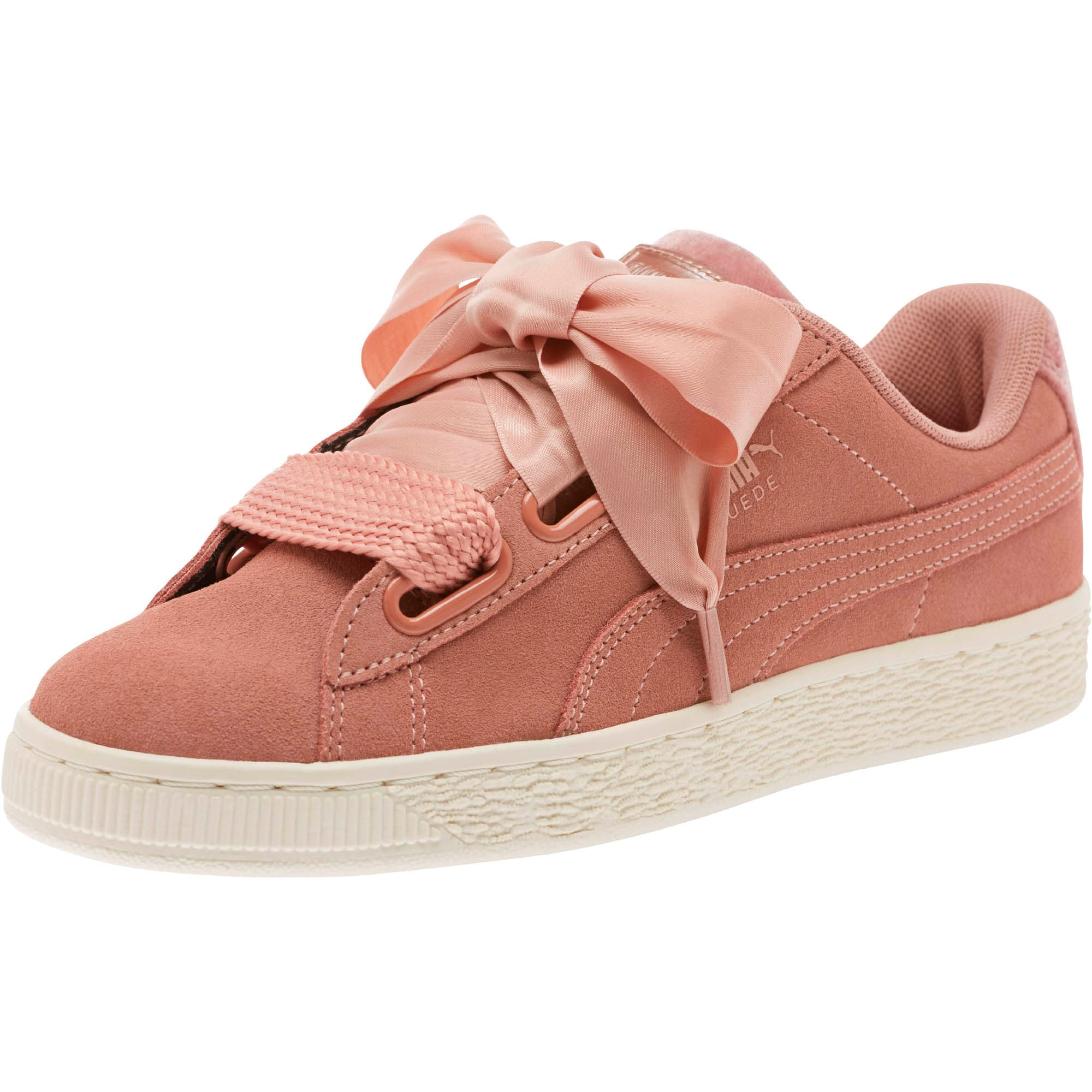free shipping 3f642 bf7fe Suede Heart VR Women's Sneakers