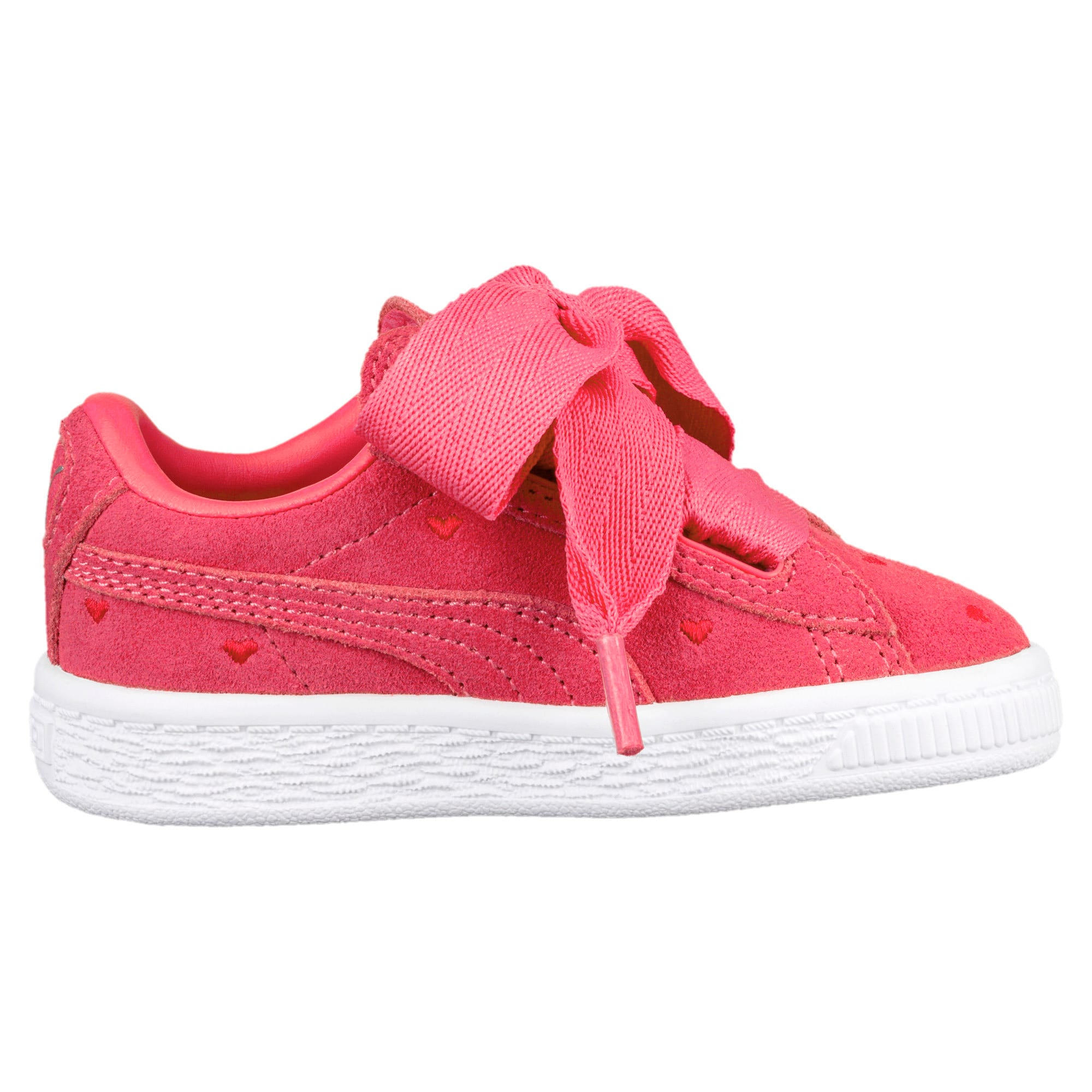 newest 63807 f194e Suede Heart Valentine Little Kids' Shoes