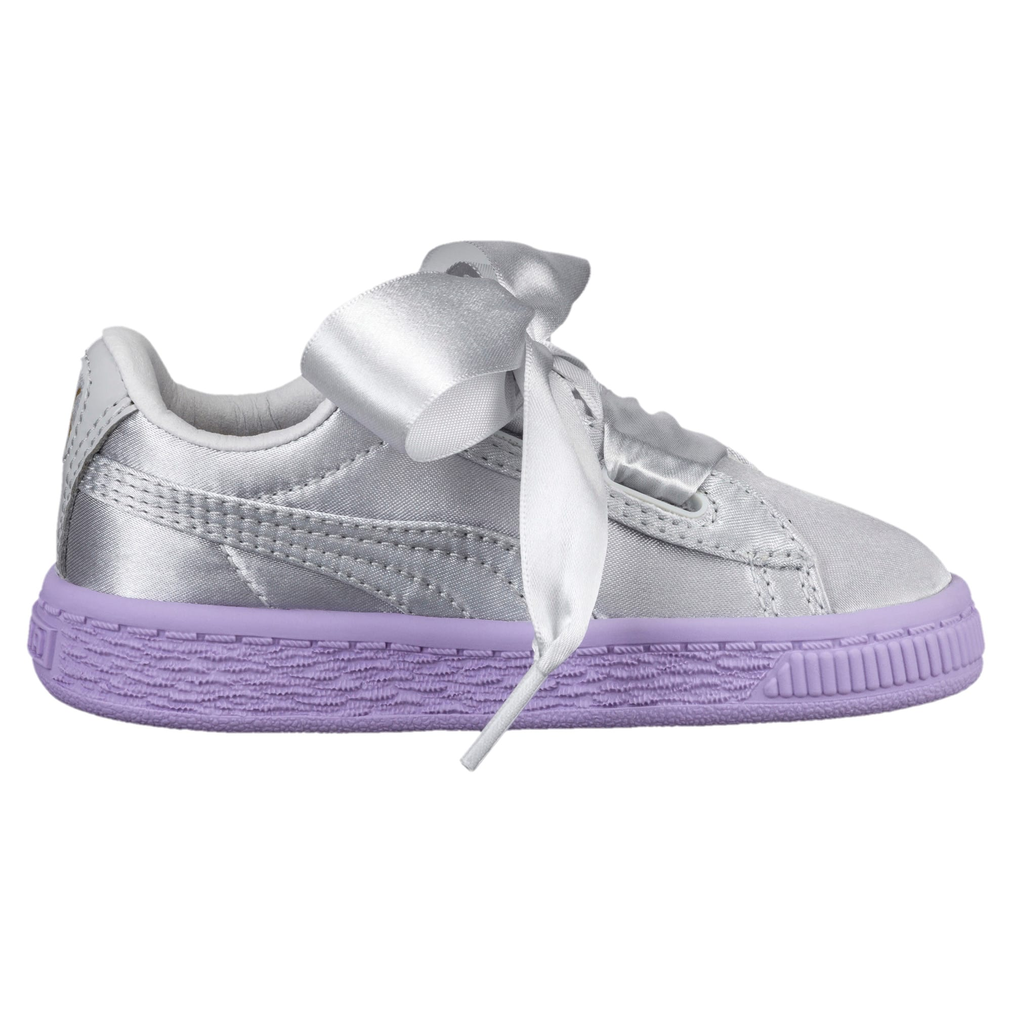 Thumbnail 3 of Basket Heart Toddler Shoes, Glacier Gray-Glacier Gray, medium