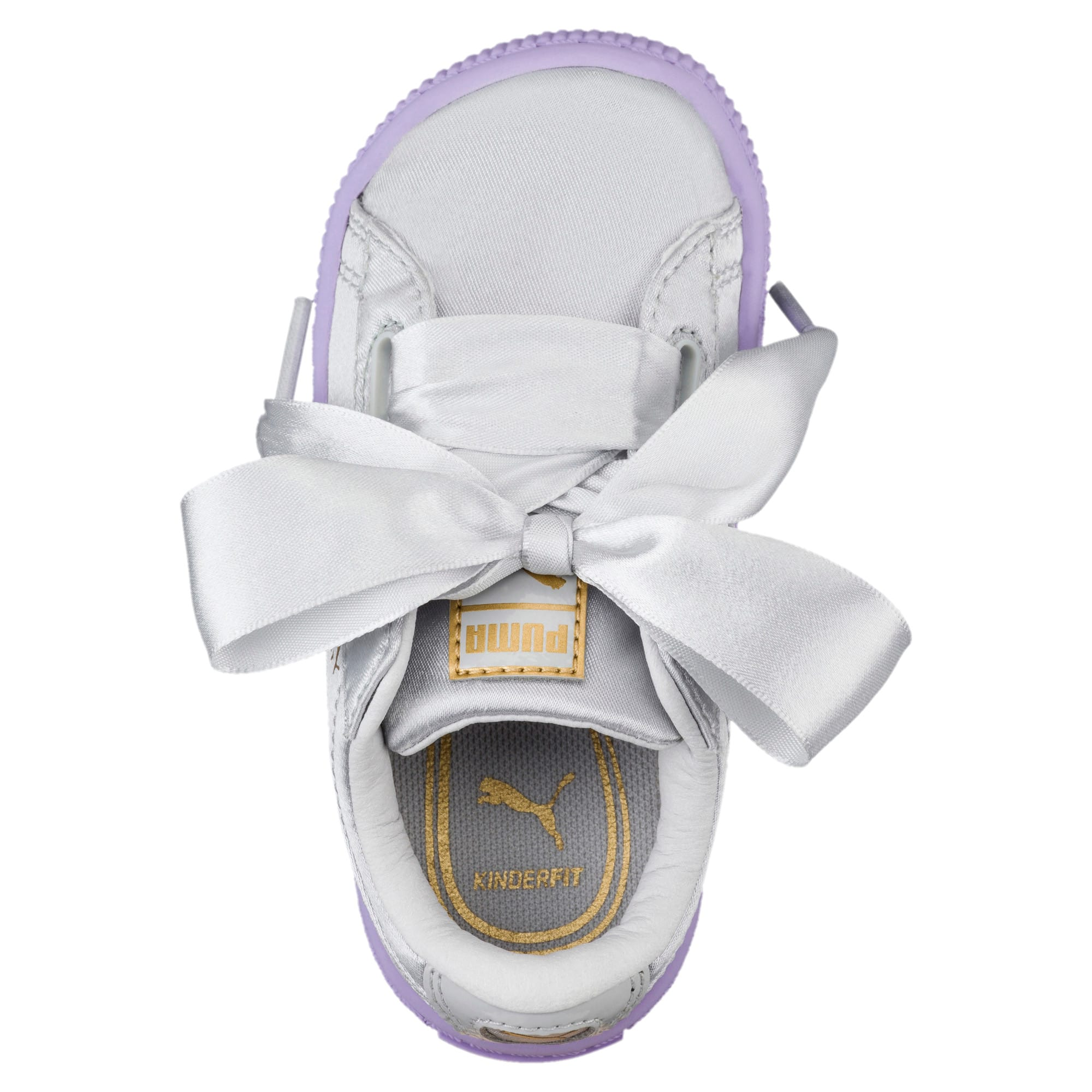Thumbnail 5 of Basket Heart Toddler Shoes, Glacier Gray-Glacier Gray, medium