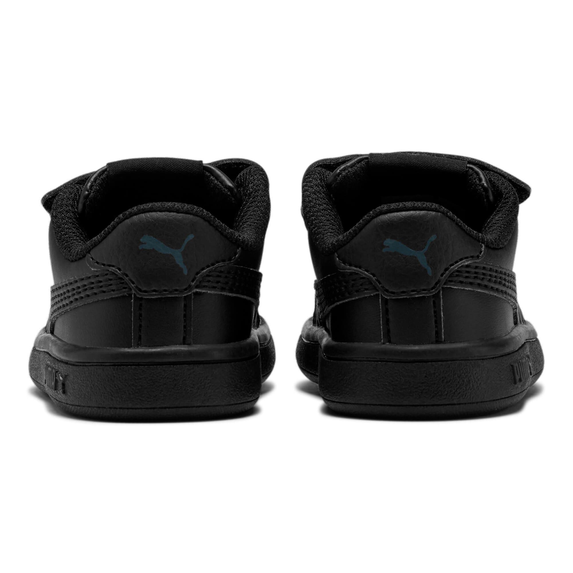Thumbnail 3 of Puma Smash v2 L V Toddler Shoes, Puma Black-Puma Black, medium