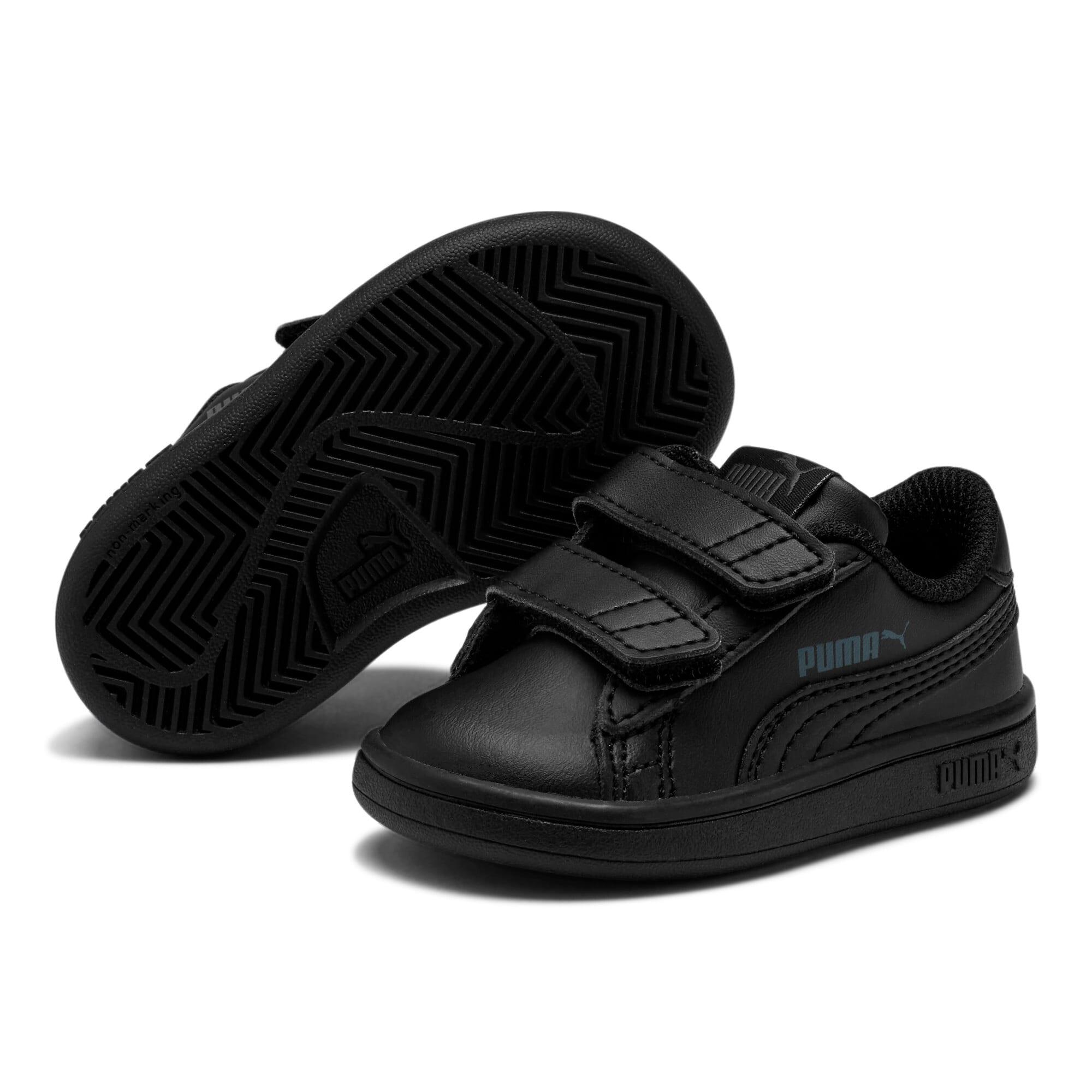 Thumbnail 2 of Puma Smash v2 L V Toddler Shoes, Puma Black-Puma Black, medium
