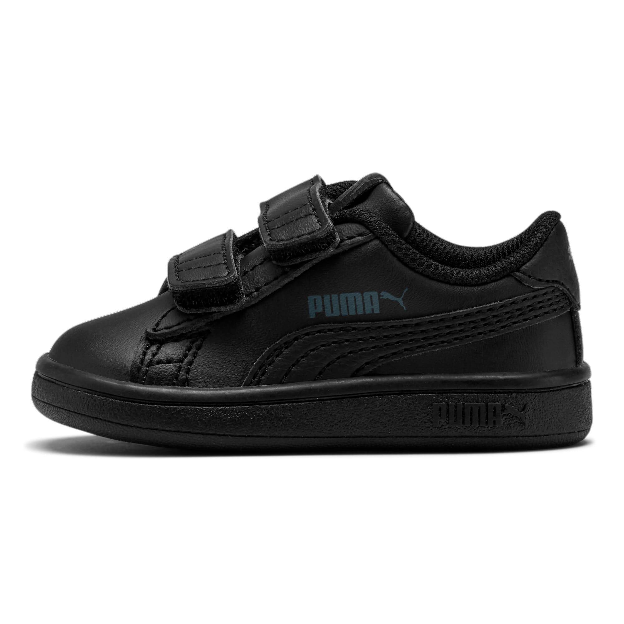 Thumbnail 1 of Puma Smash v2 L V Toddler Shoes, Puma Black-Puma Black, medium