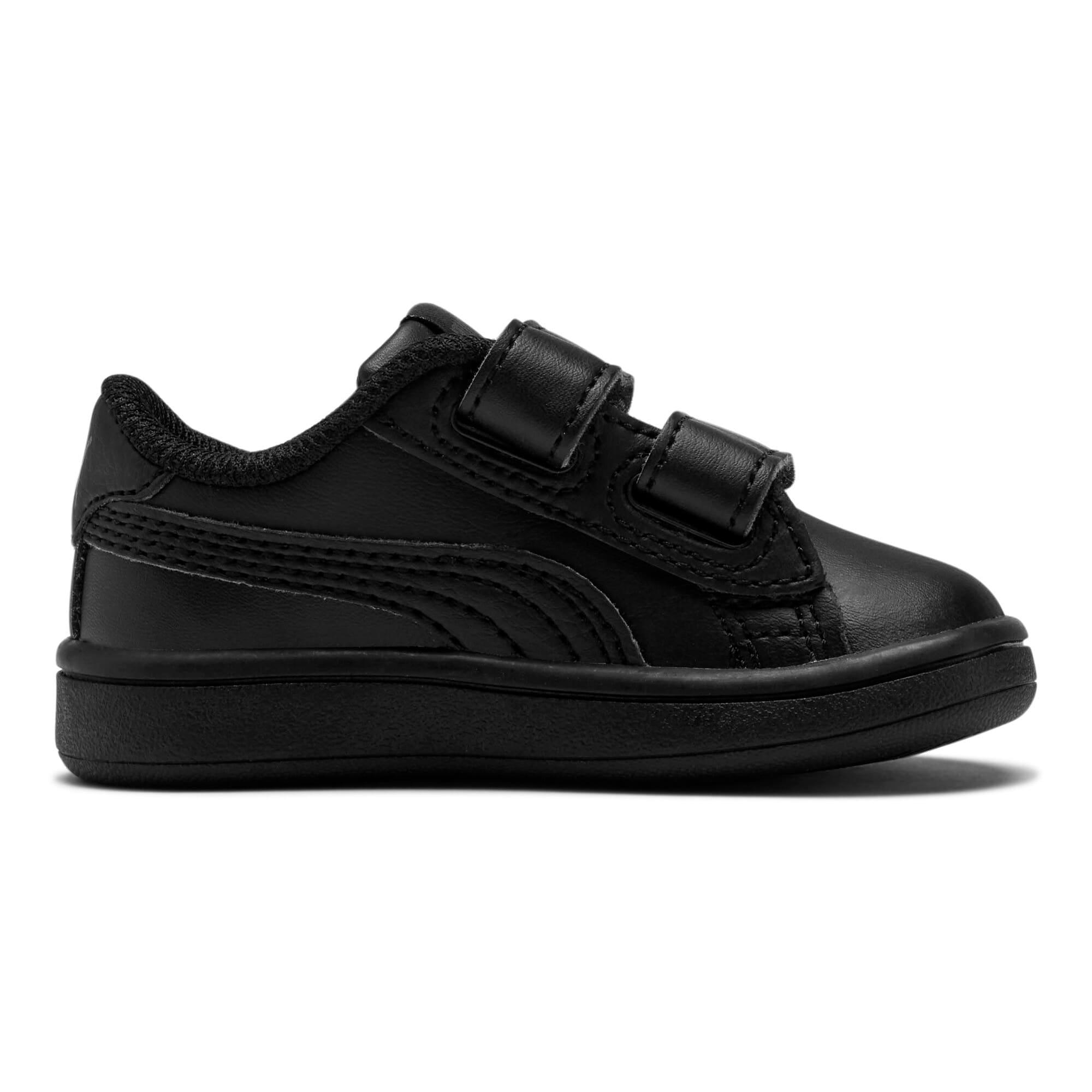 Thumbnail 5 of Puma Smash v2 L V Toddler Shoes, Puma Black-Puma Black, medium