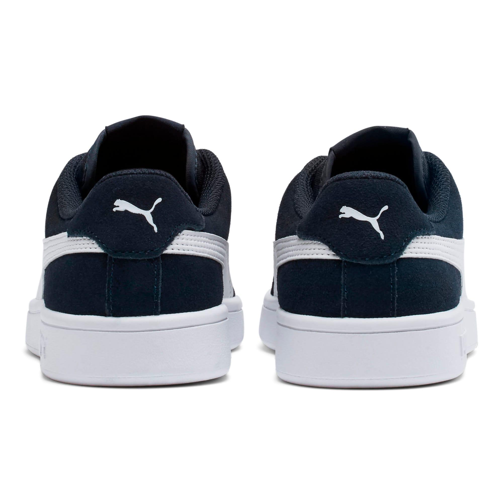 Thumbnail 4 of Smash v2 Suede Sneakers JR, Peacoat-Puma White, medium
