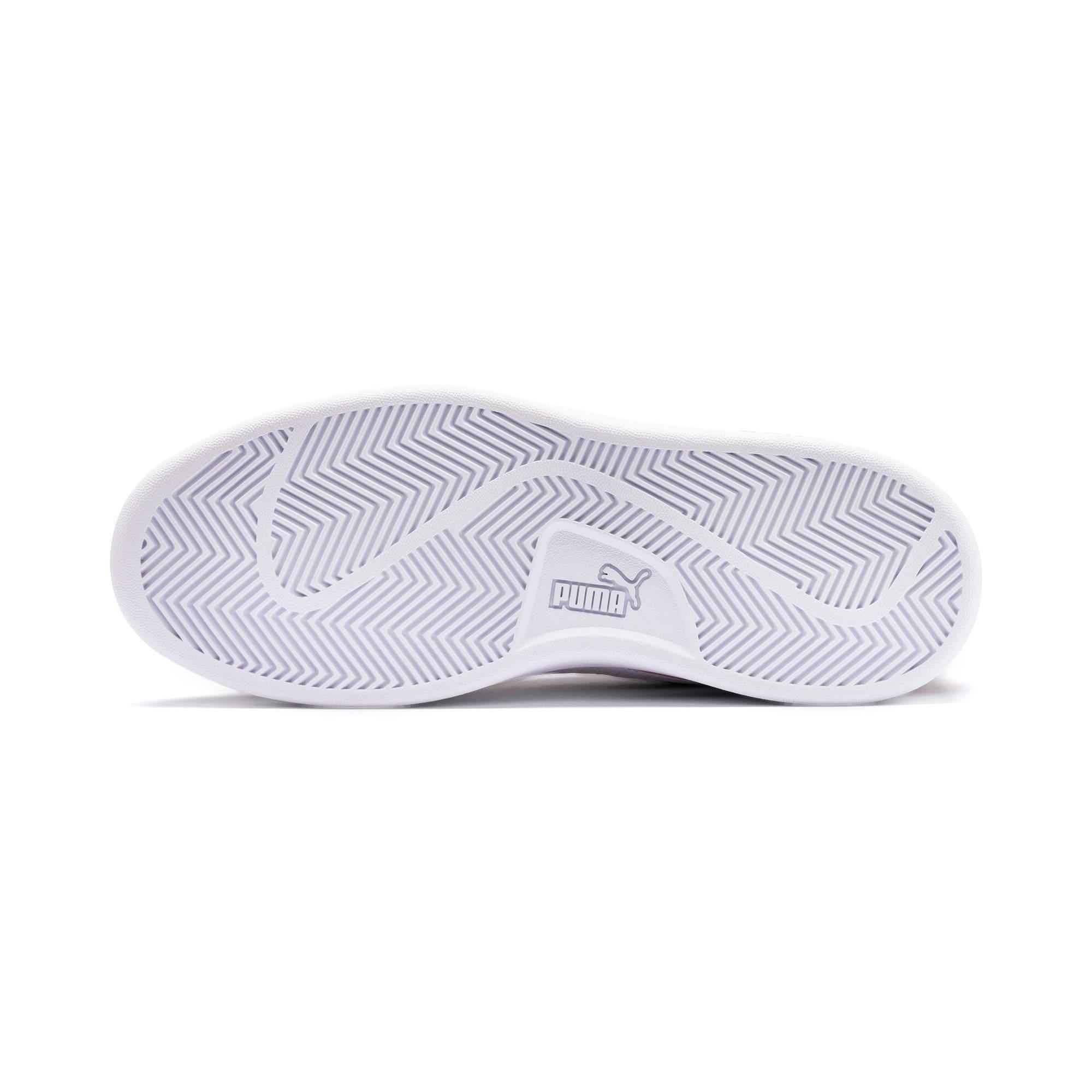 Thumbnail 4 of Smash v2 Suede Sneakers JR, Rhubarb-Puma White, medium
