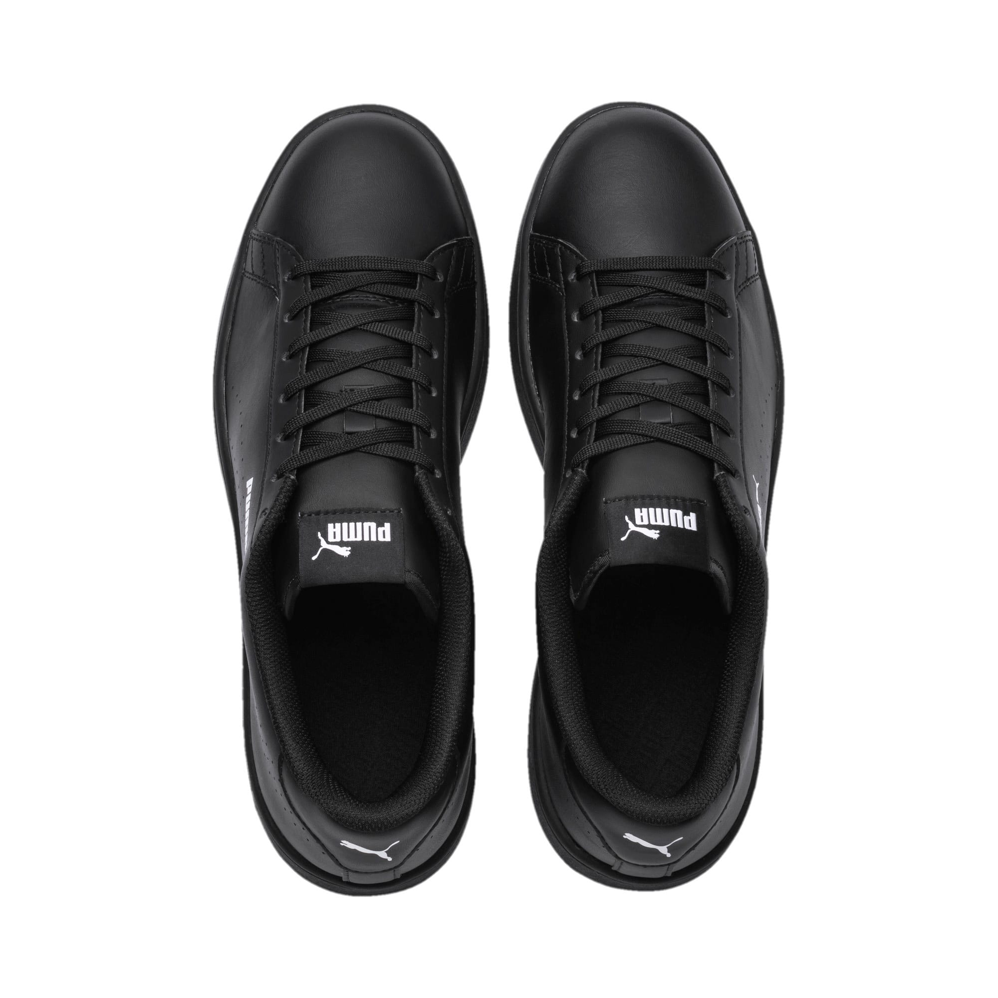 Thumbnail 6 of Smash v2 L Perf Trainers, Puma Black-Puma Black, medium