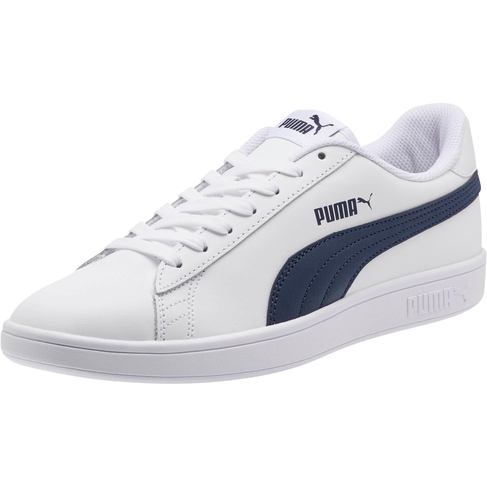 Thumbnail 1 of PUMA Smash v2 Sneakers, Puma White-Peacoat, medium