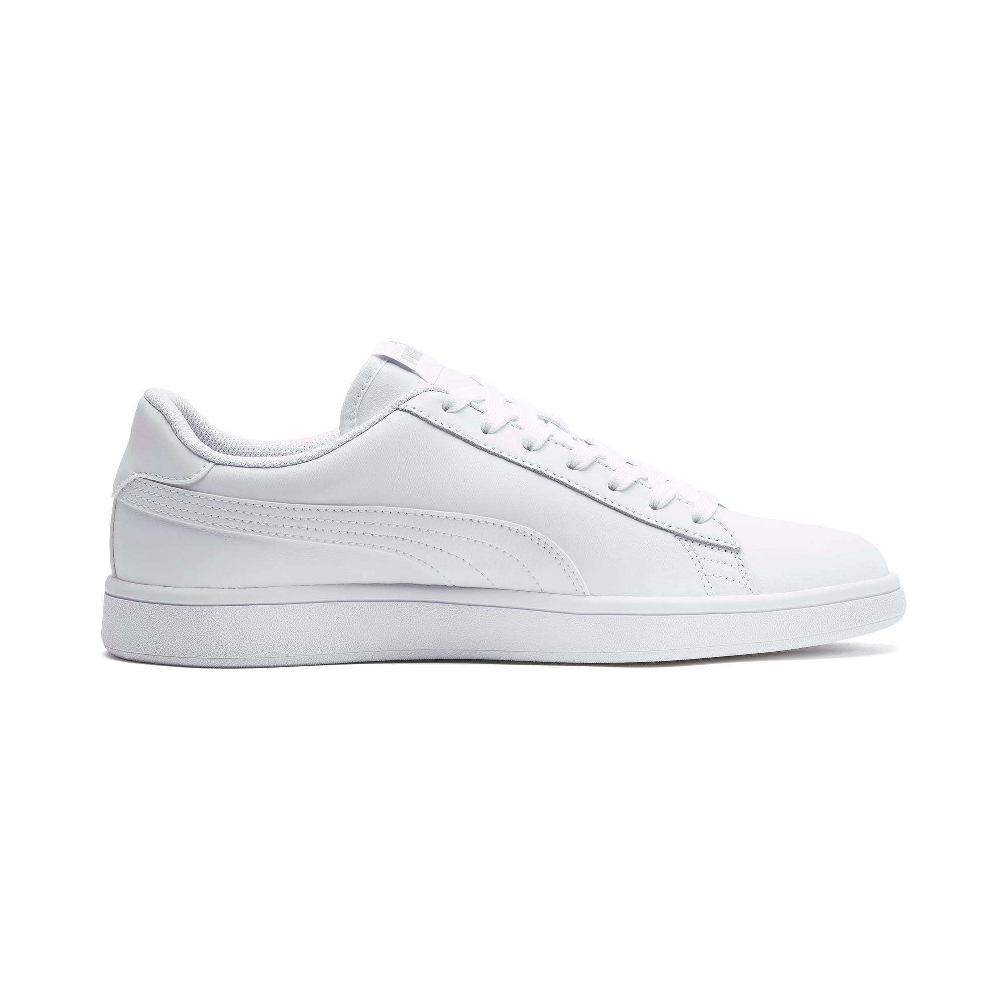Thumbnail 5 of Puma Smash v2 L, Puma White-Puma White, medium
