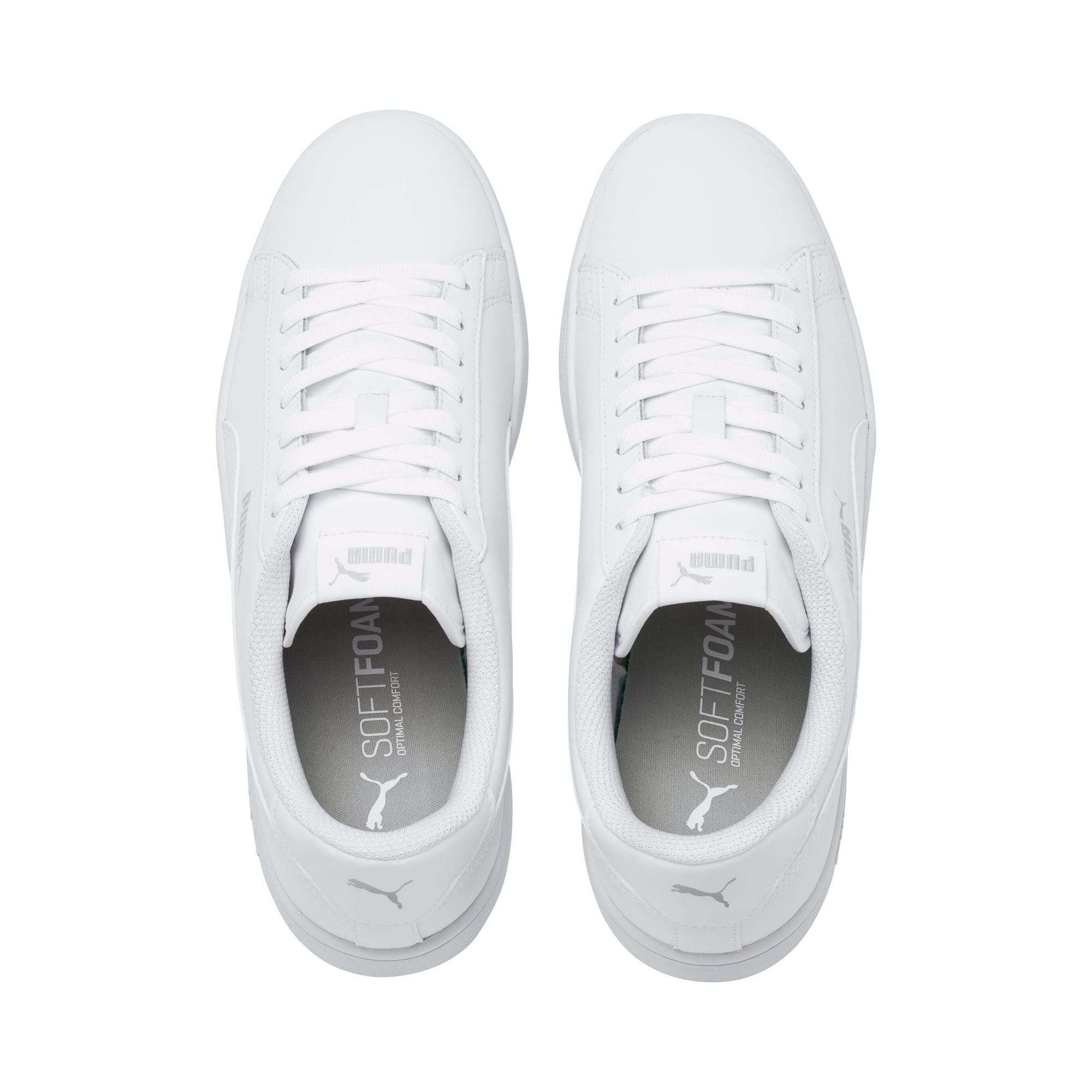Thumbnail 6 of Puma Smash v2 L, Puma White-Puma White, medium