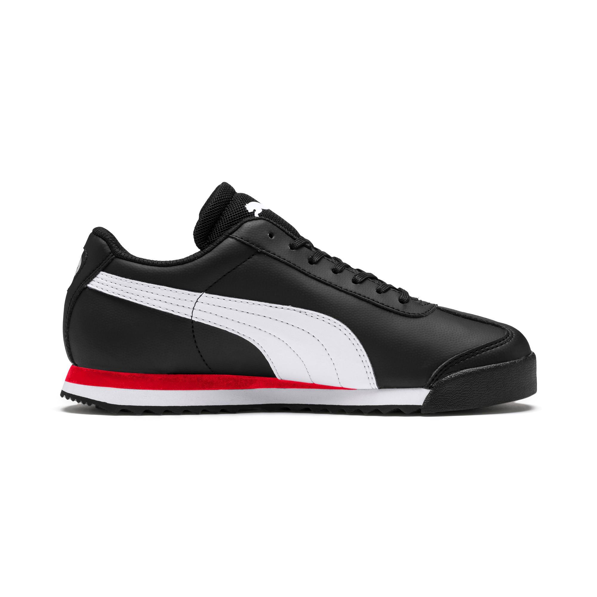 Thumbnail 5 of Scuderia Ferrari Roma Sneakers JR, Black-White-Rosso Corsa, medium
