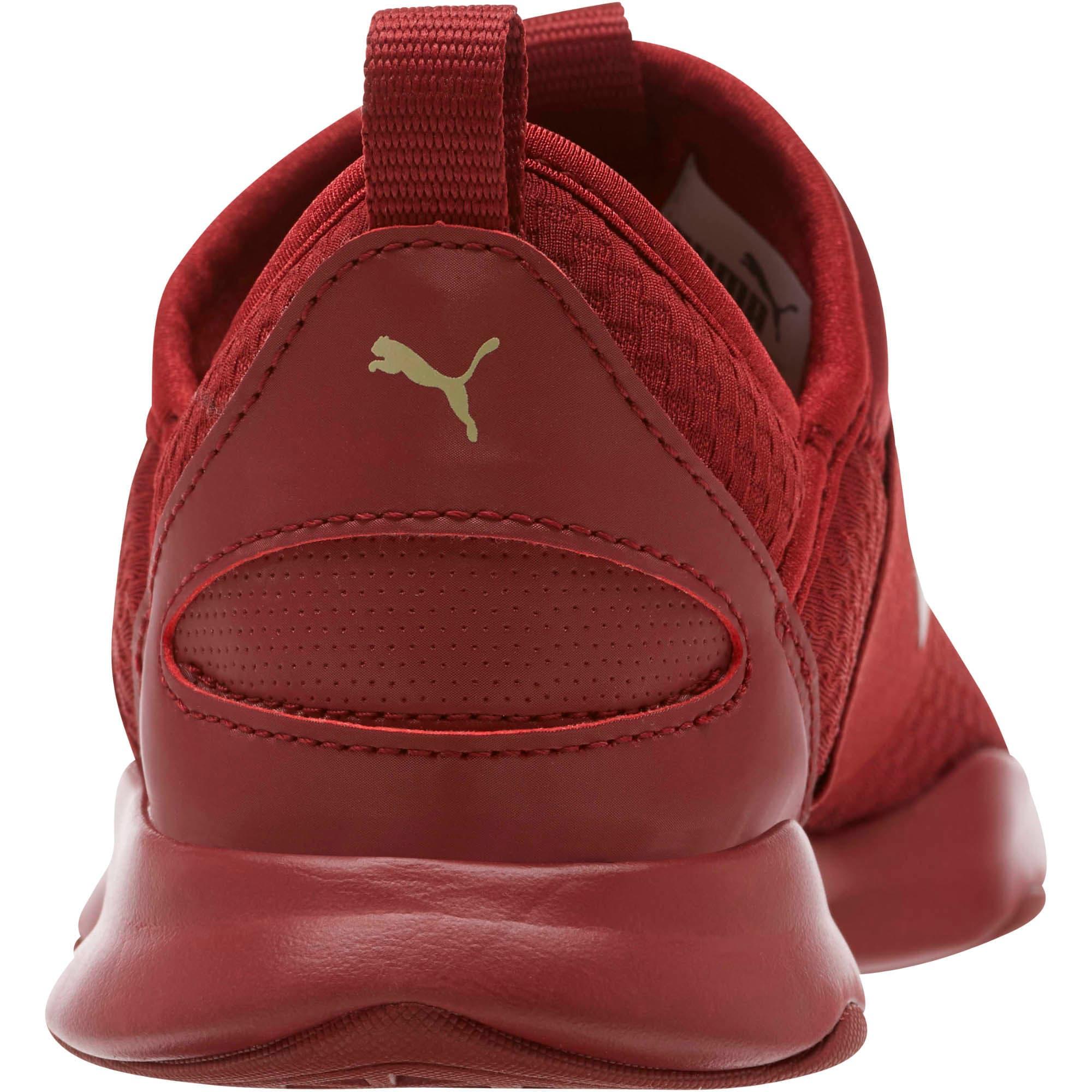Thumbnail 4 of Dare En Pointe Women's Shoes, Pomegranate-Metallic Gold, medium