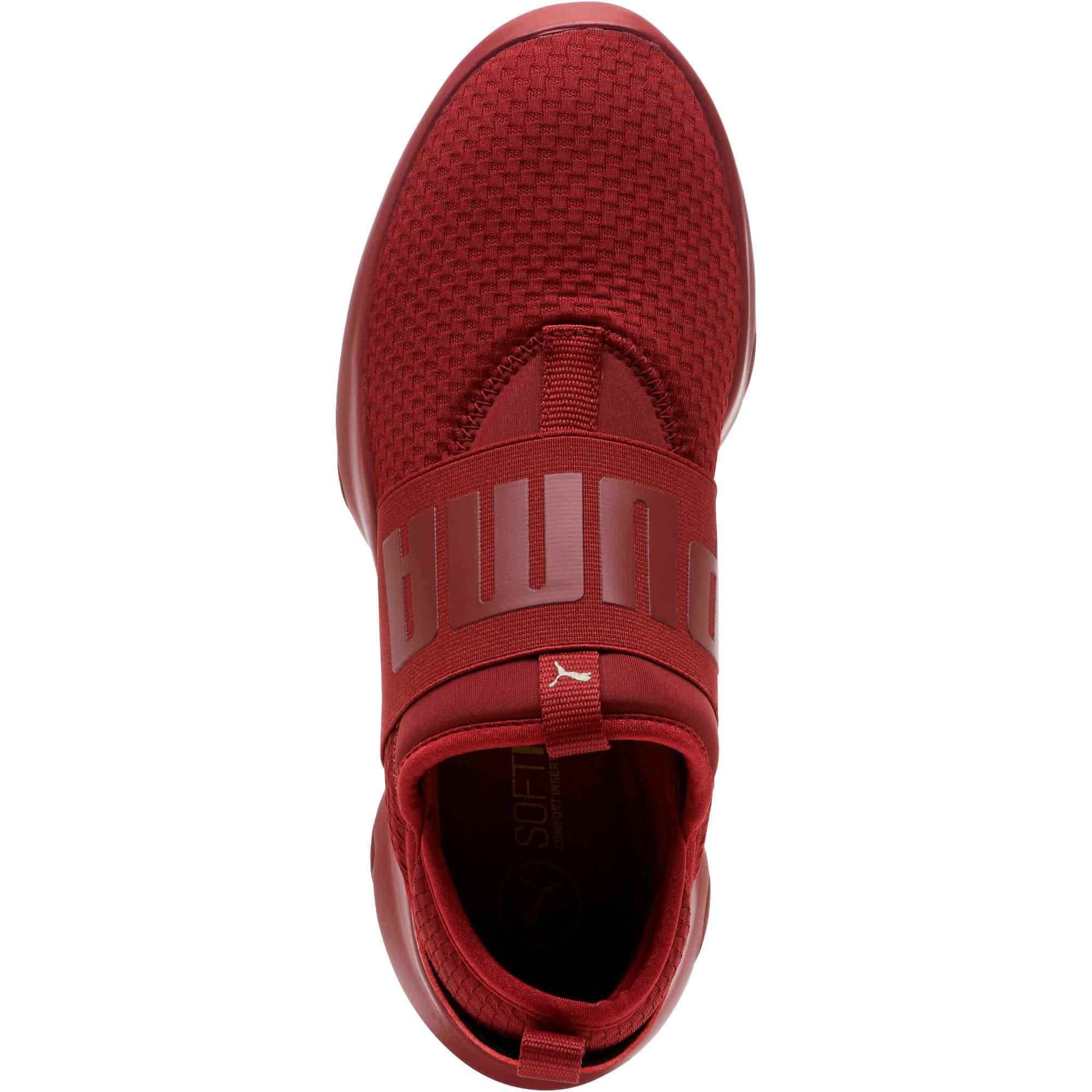 Thumbnail 5 of Dare En Pointe Women's Shoes, Pomegranate-Metallic Gold, medium