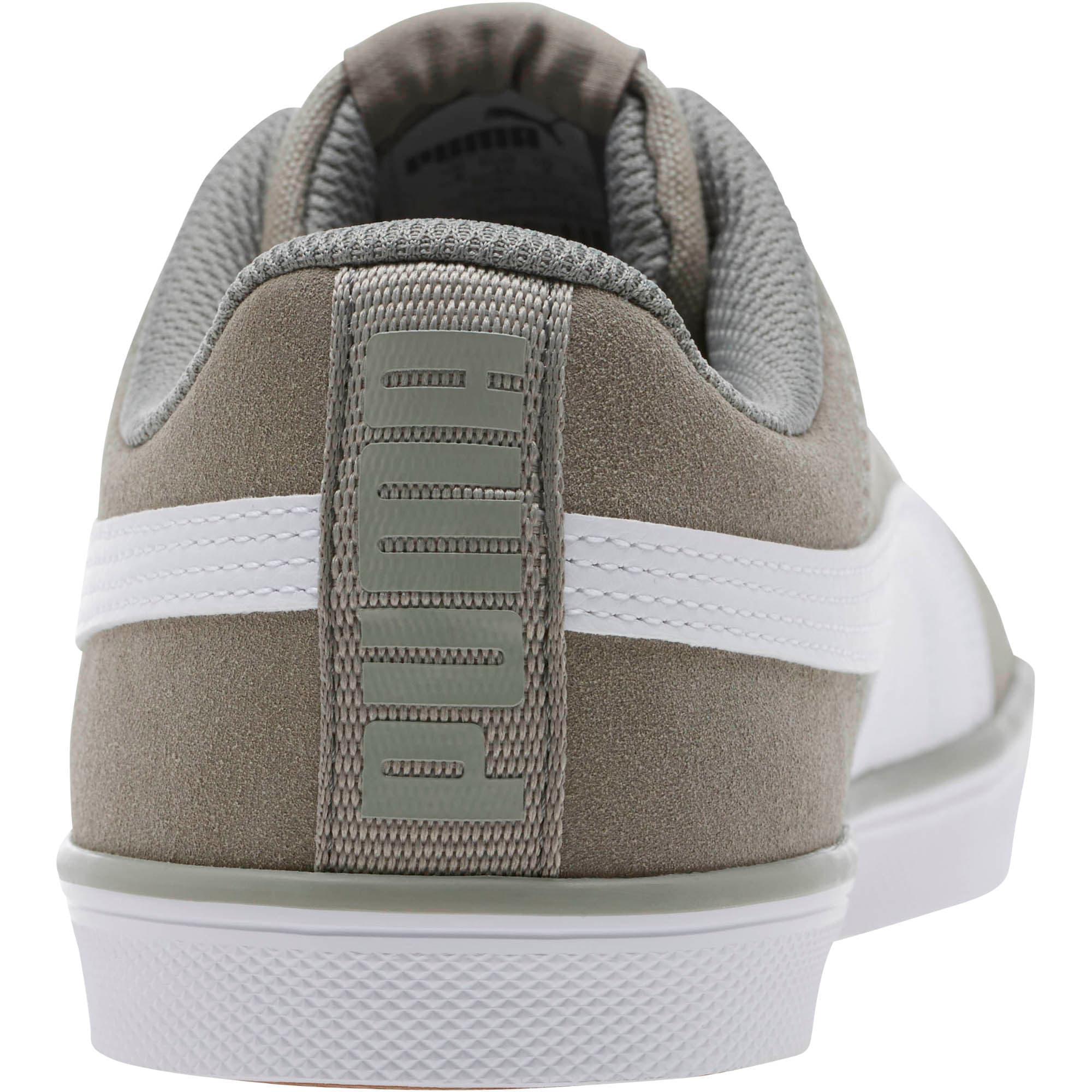 Thumbnail 4 of Urban Plus Suede Sneakers, Rock Ridge-Puma White, medium